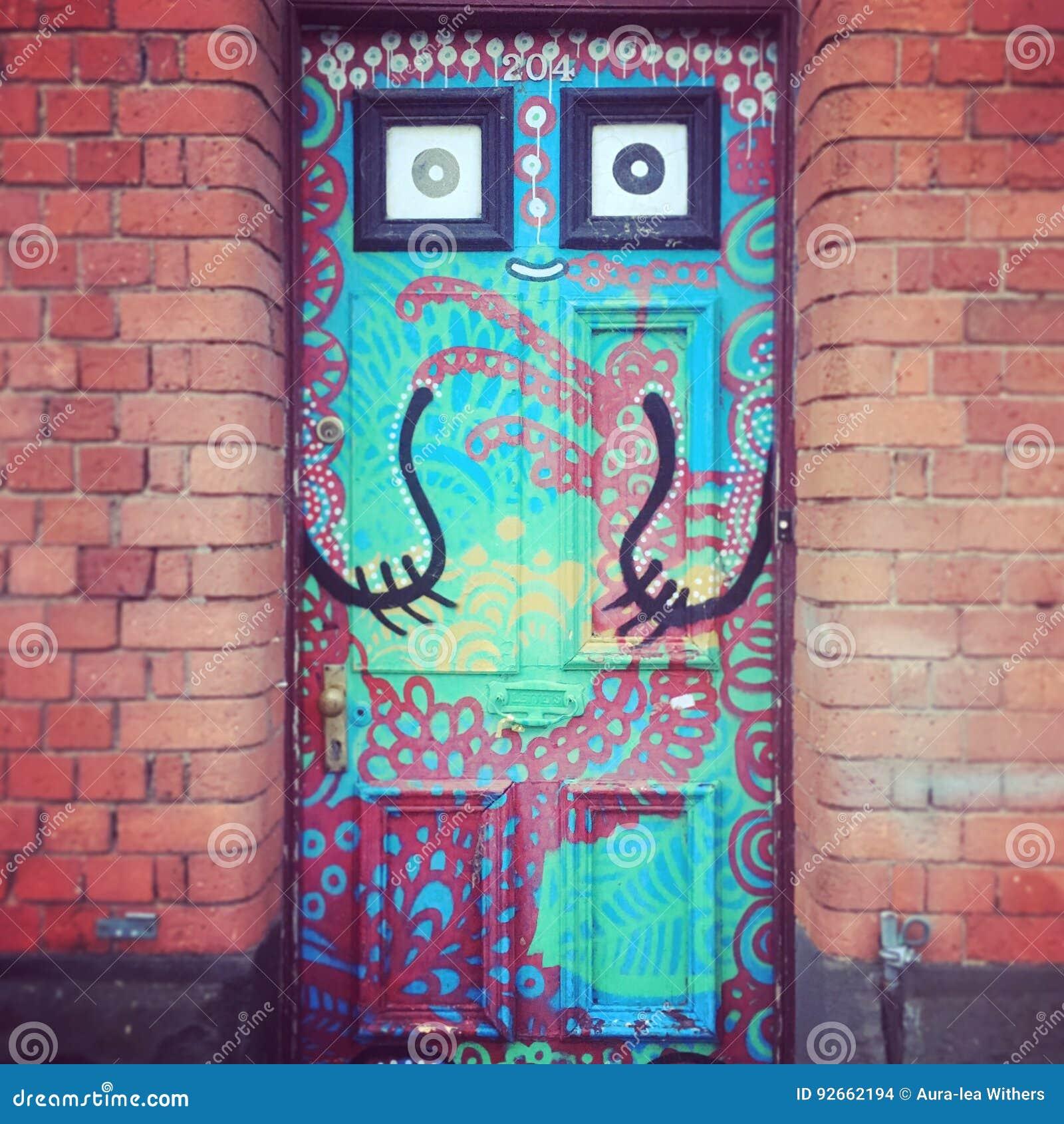 Puerta artsy