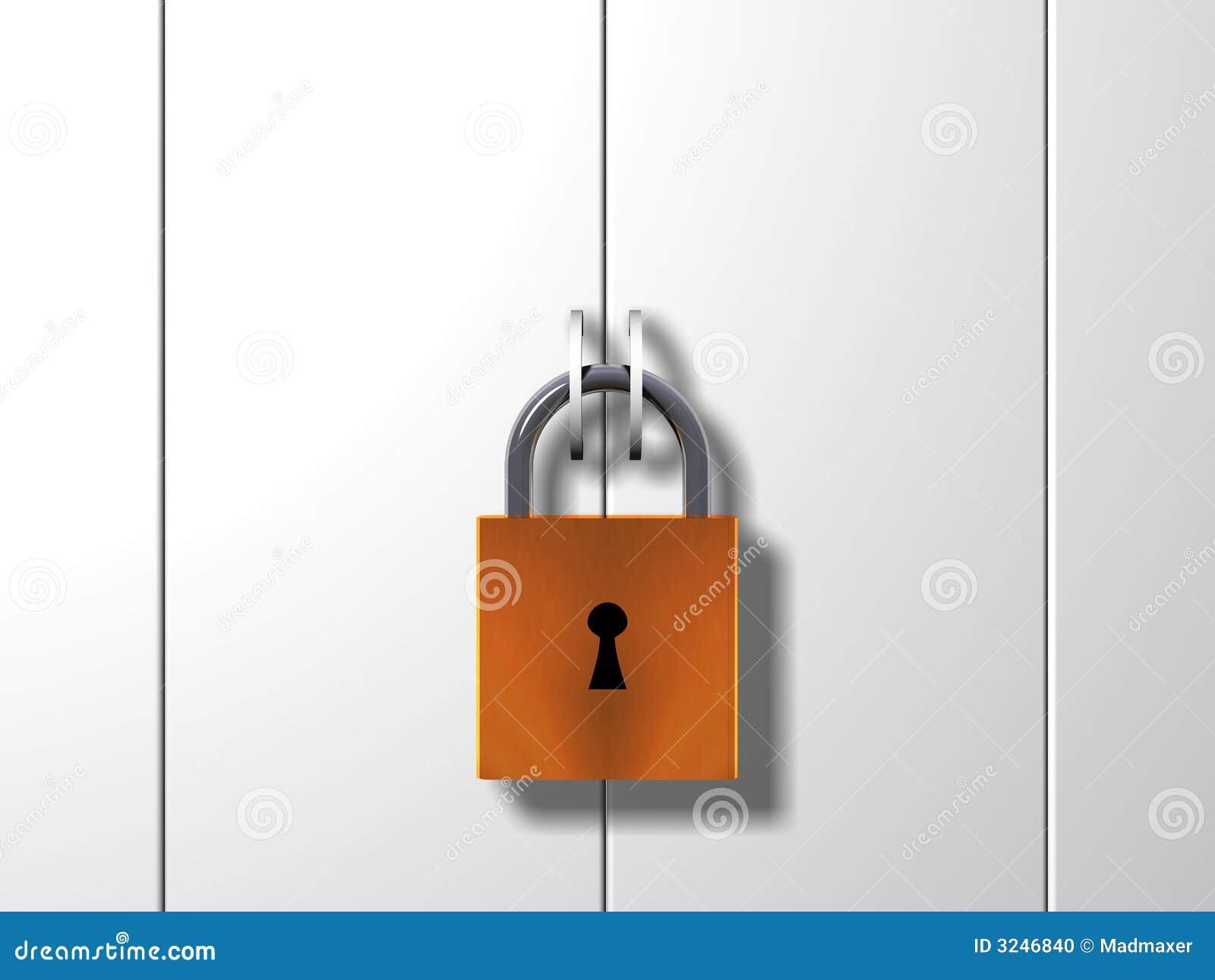Puerta bloqueada