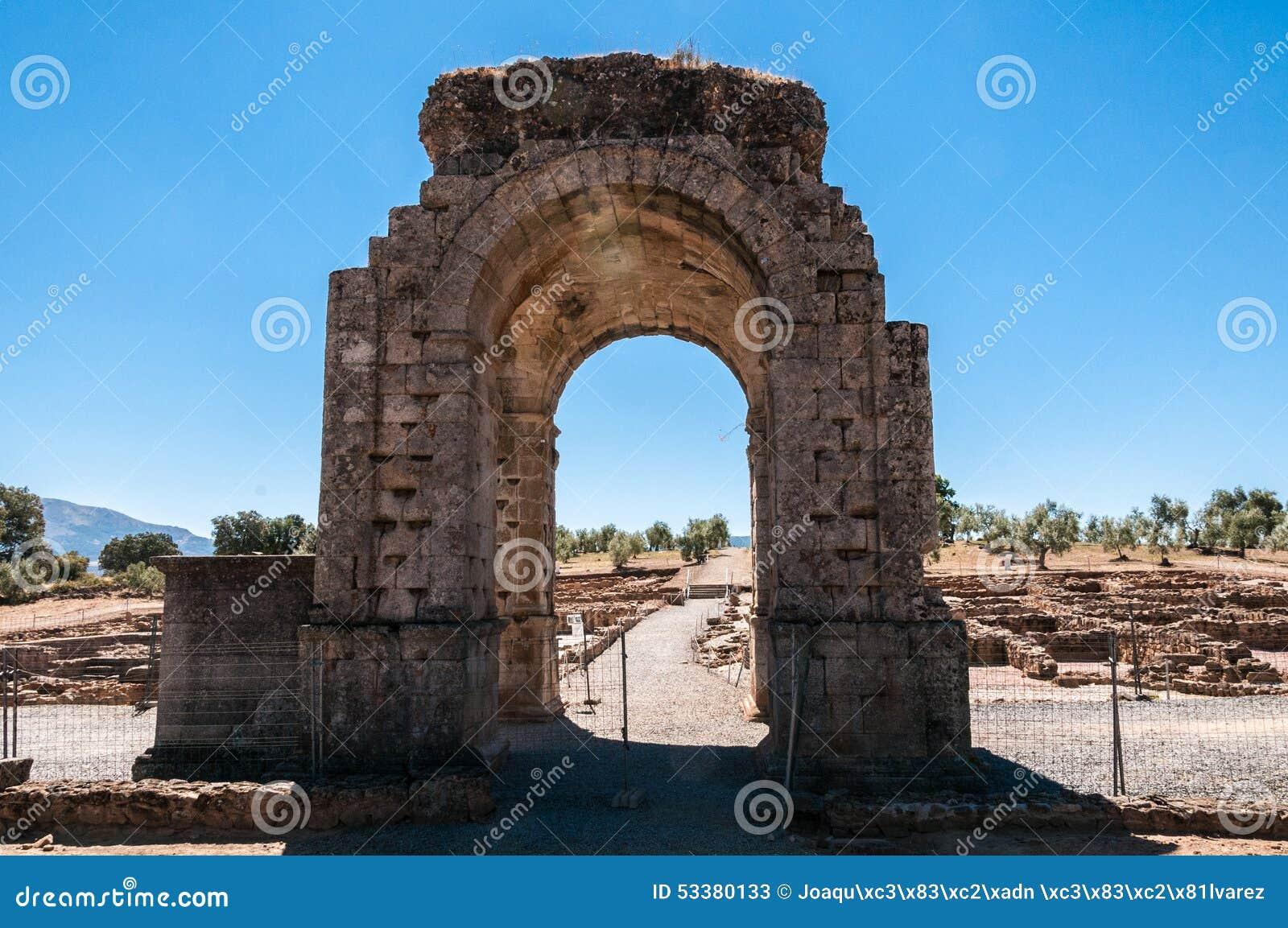Puerta de Caparra