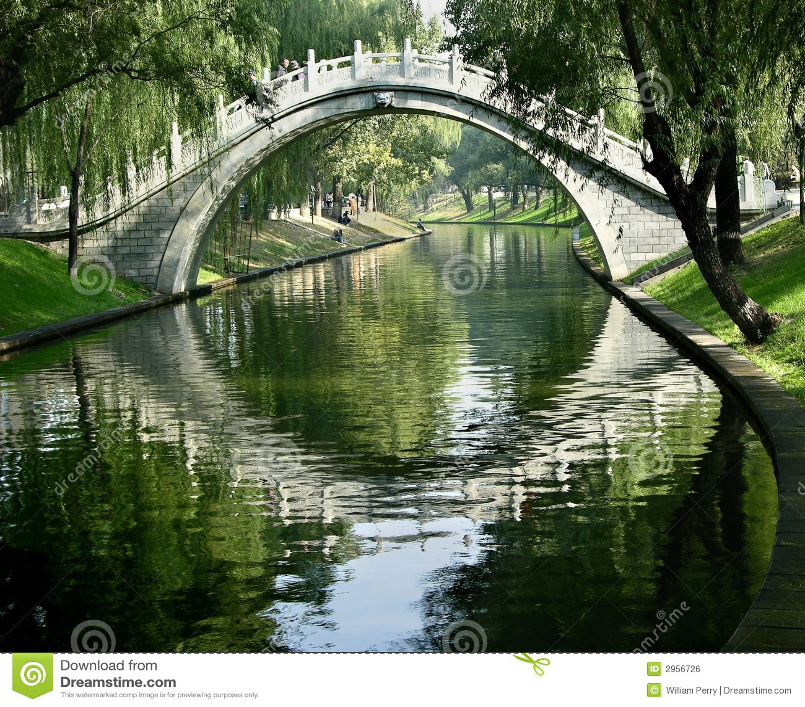 Puerta de la luna, Pekín, China