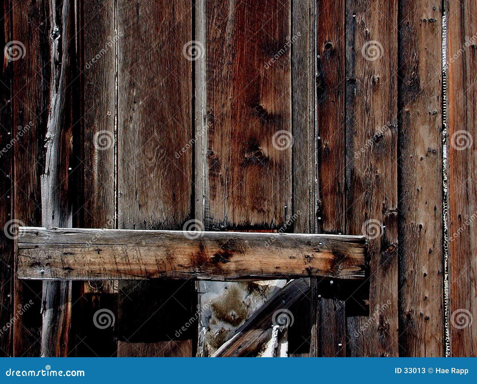 Download Puerta de madera imagen de archivo. Imagen de terroso, líneas - 33013
