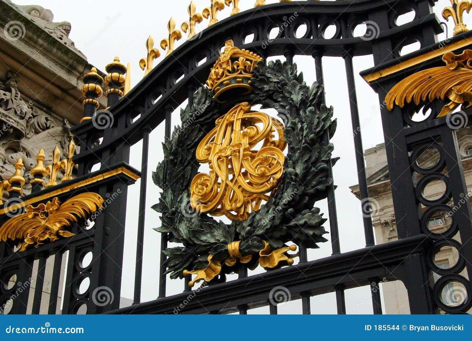 Puerta del Buckingham Palace
