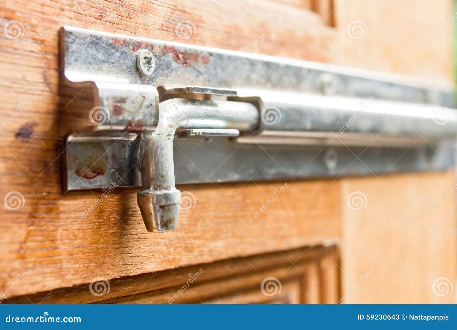 Download Puerta del cierre imagen de archivo. Imagen de vendimia - 59230643