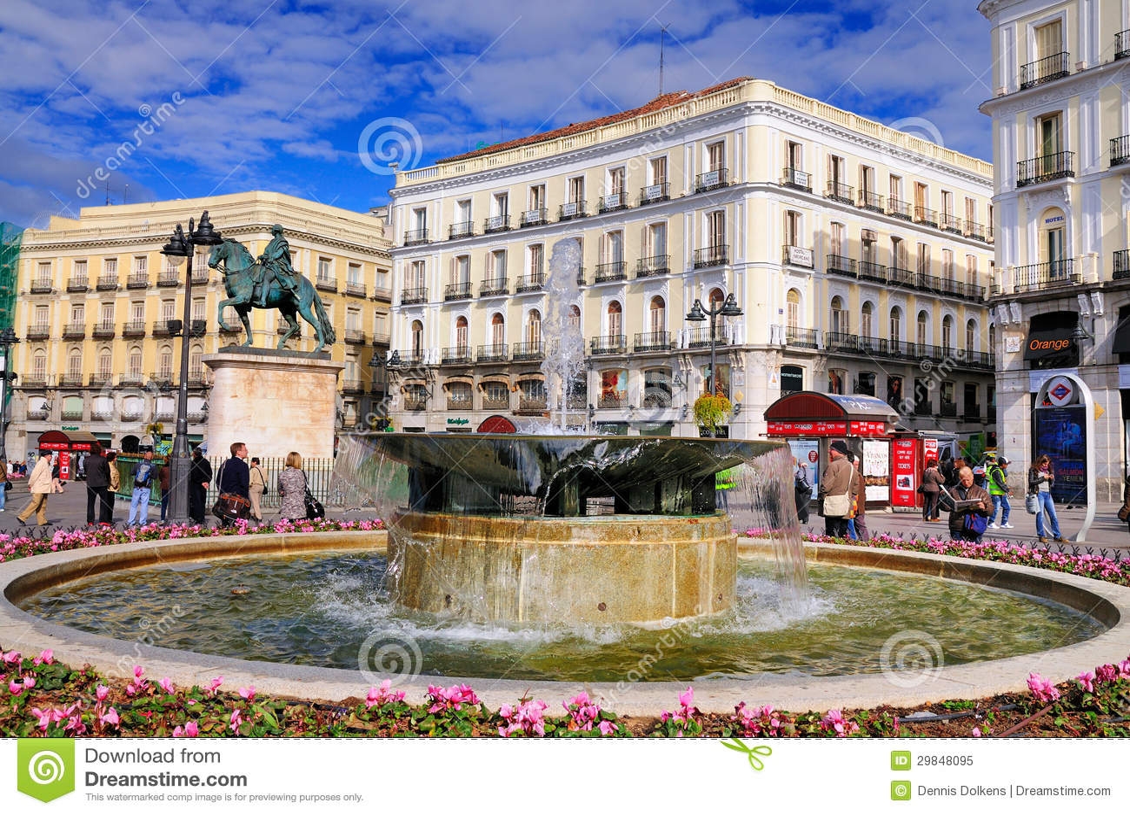 Solenóide, Madrid
