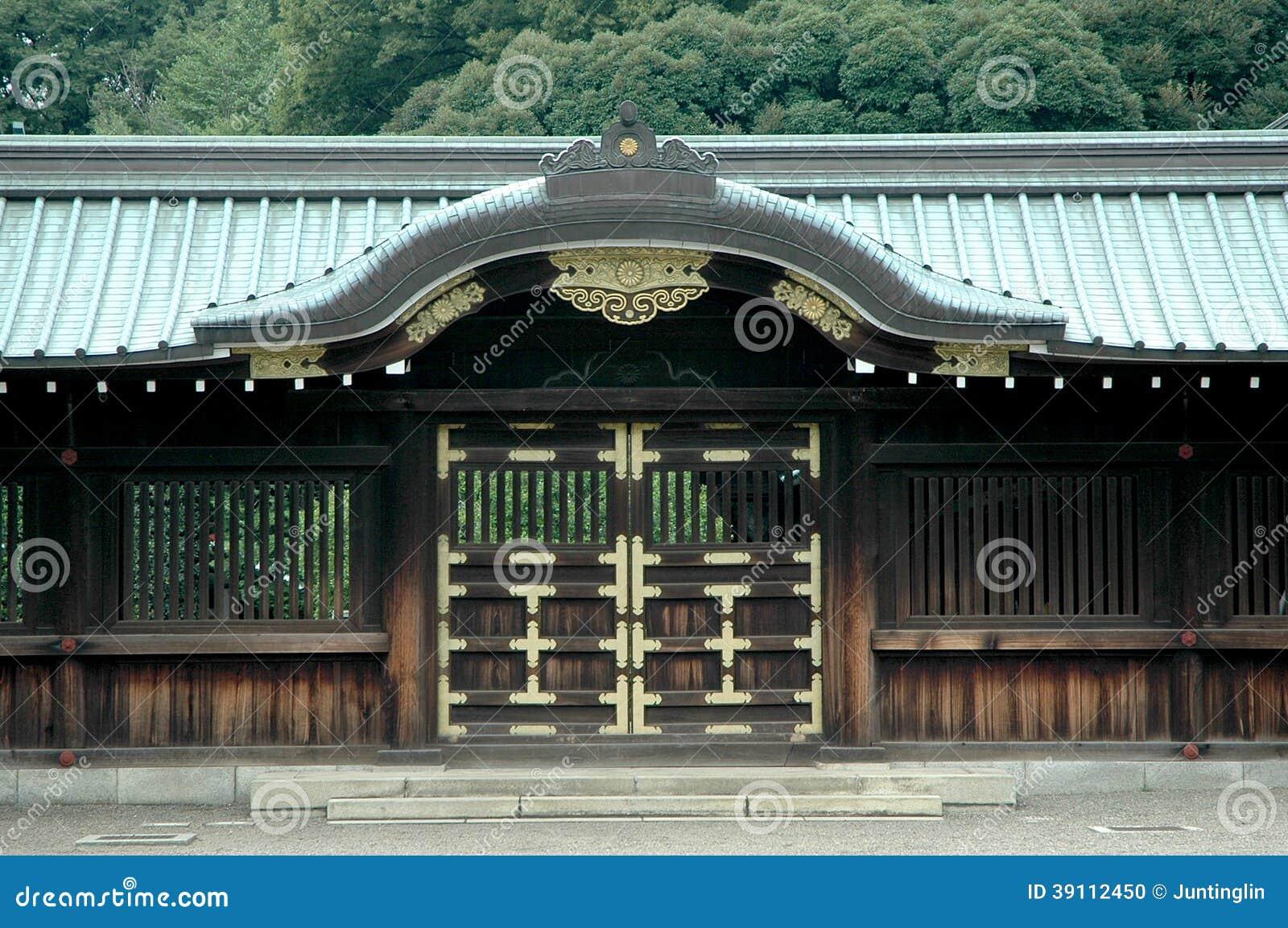 puerta japonesa del templo foto de archivo imagen 39112450