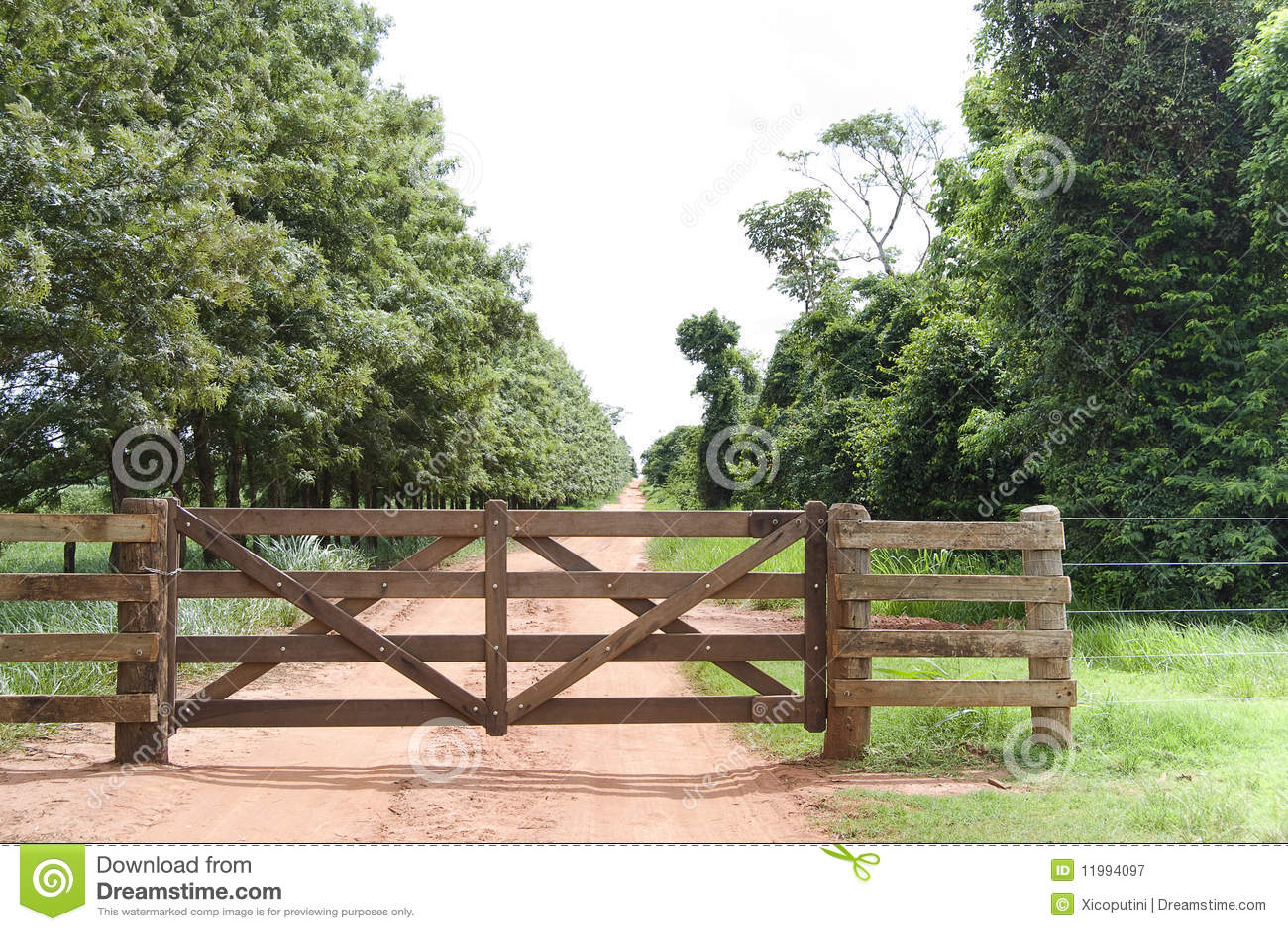 Puerta rural