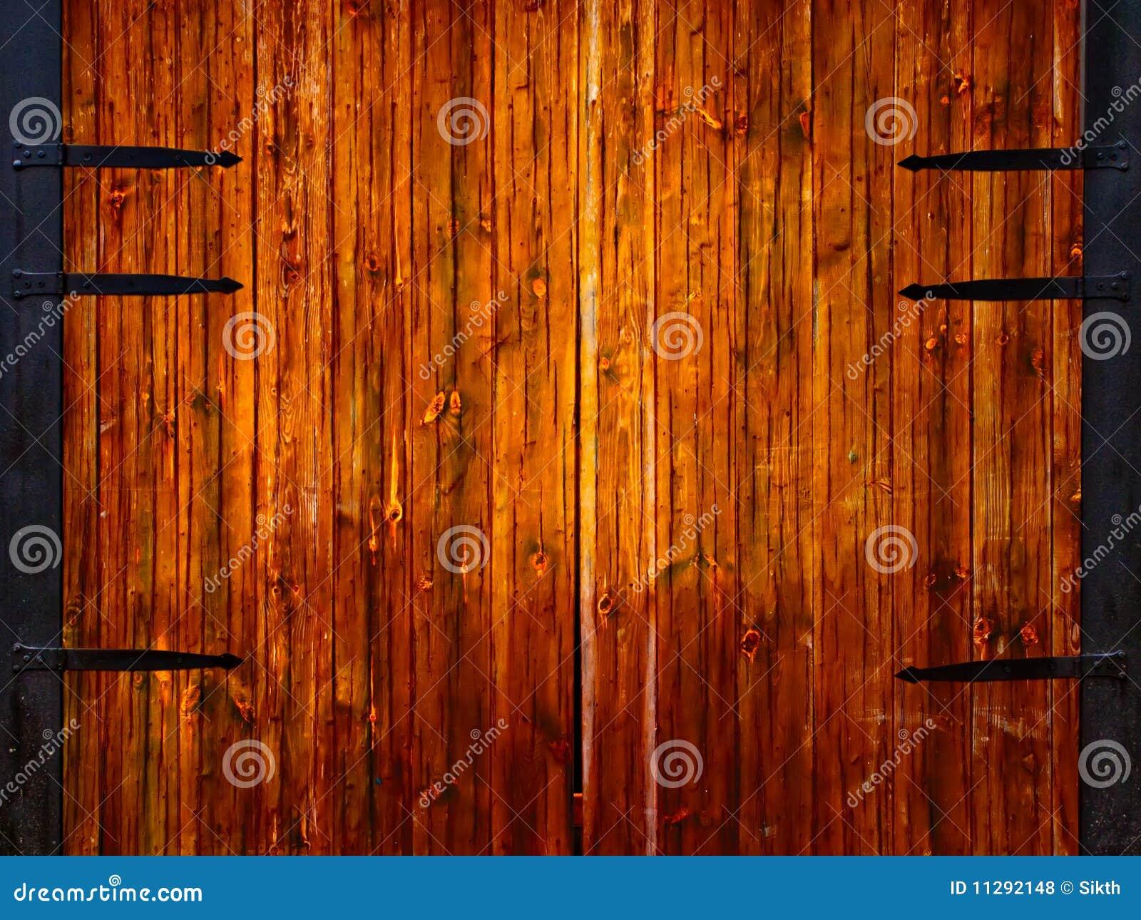 Puertas de madera fotos de archivo libres de regal as imagen 11292148 - Fotos de puertas de madera ...