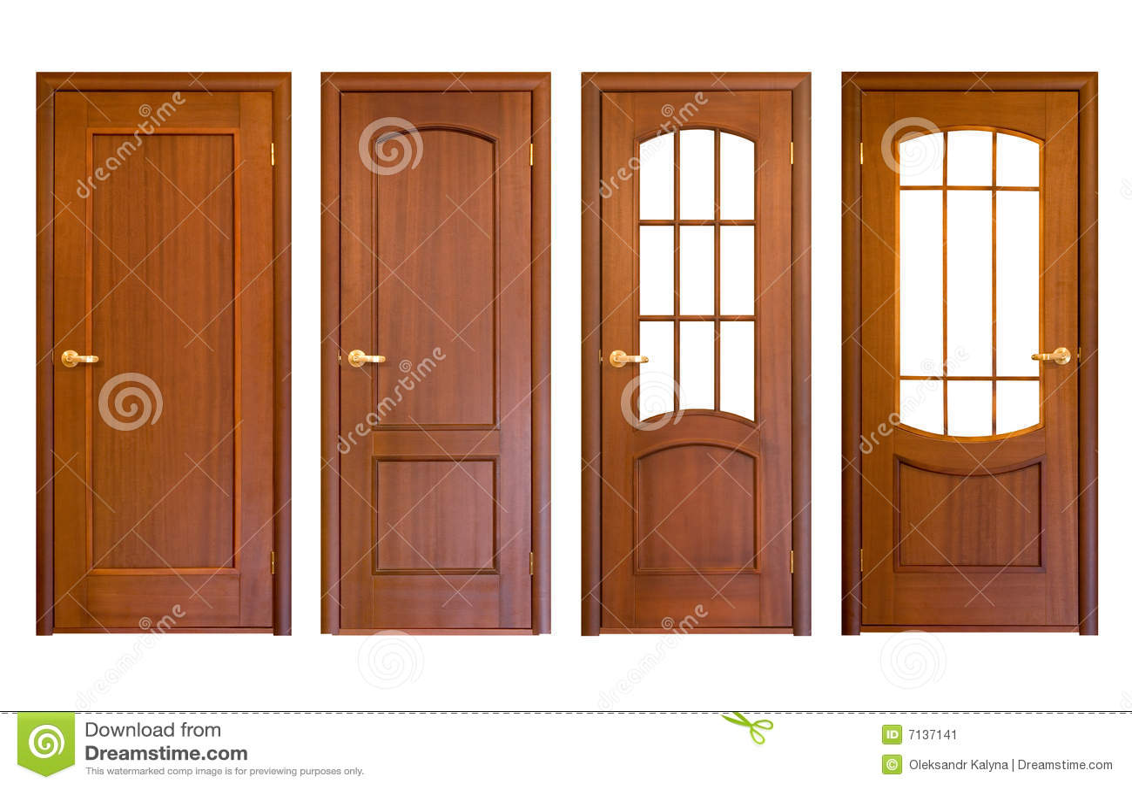 Puertas de madera imagen de archivo imagen de acceso for Puertas de madera easy