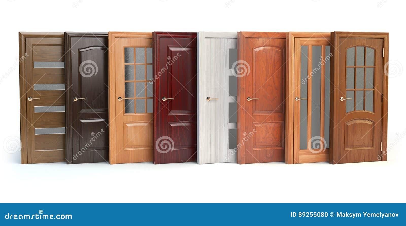 Puertas de madera en blanco amazing armario lacado blanco - Puertas de madera en blanco ...