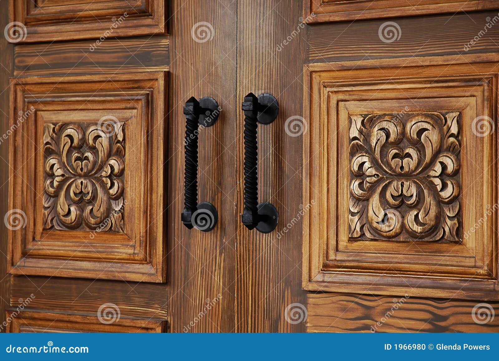 Puertas de madera elegantes foto de archivo imagen 1966980 - Pueras de madera ...