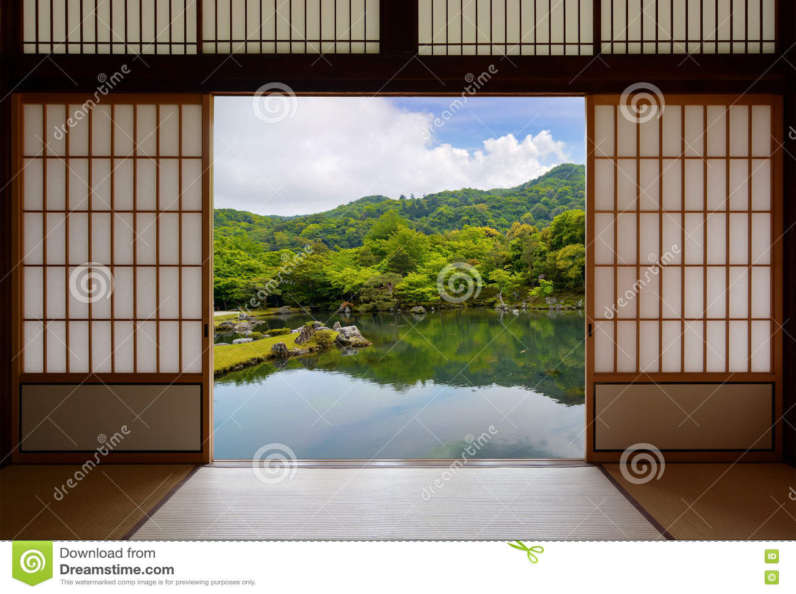 Puertas deslizantes puerta corrediza rstica de madera for Puertas japonesas deslizantes