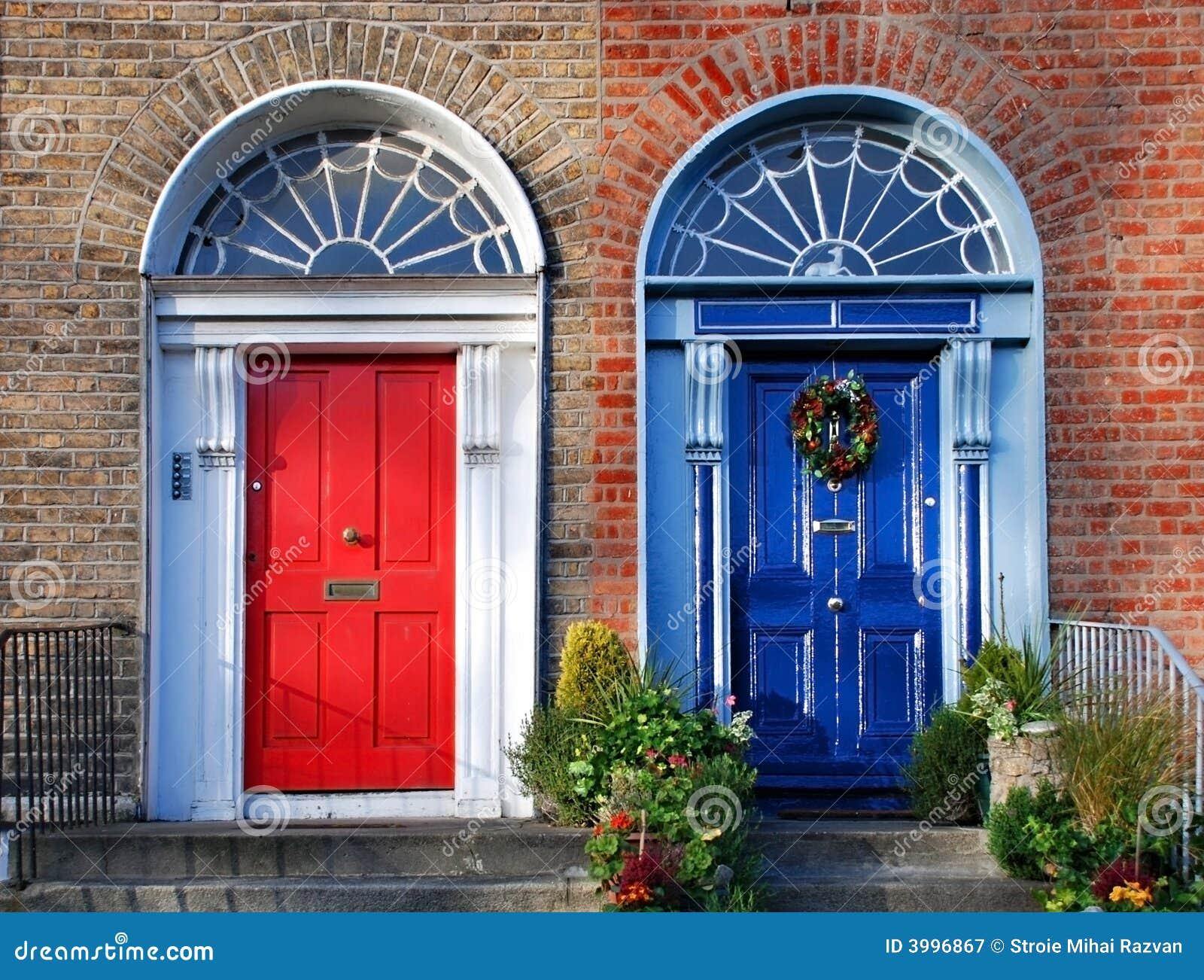 Puertas georgianas en Dublín