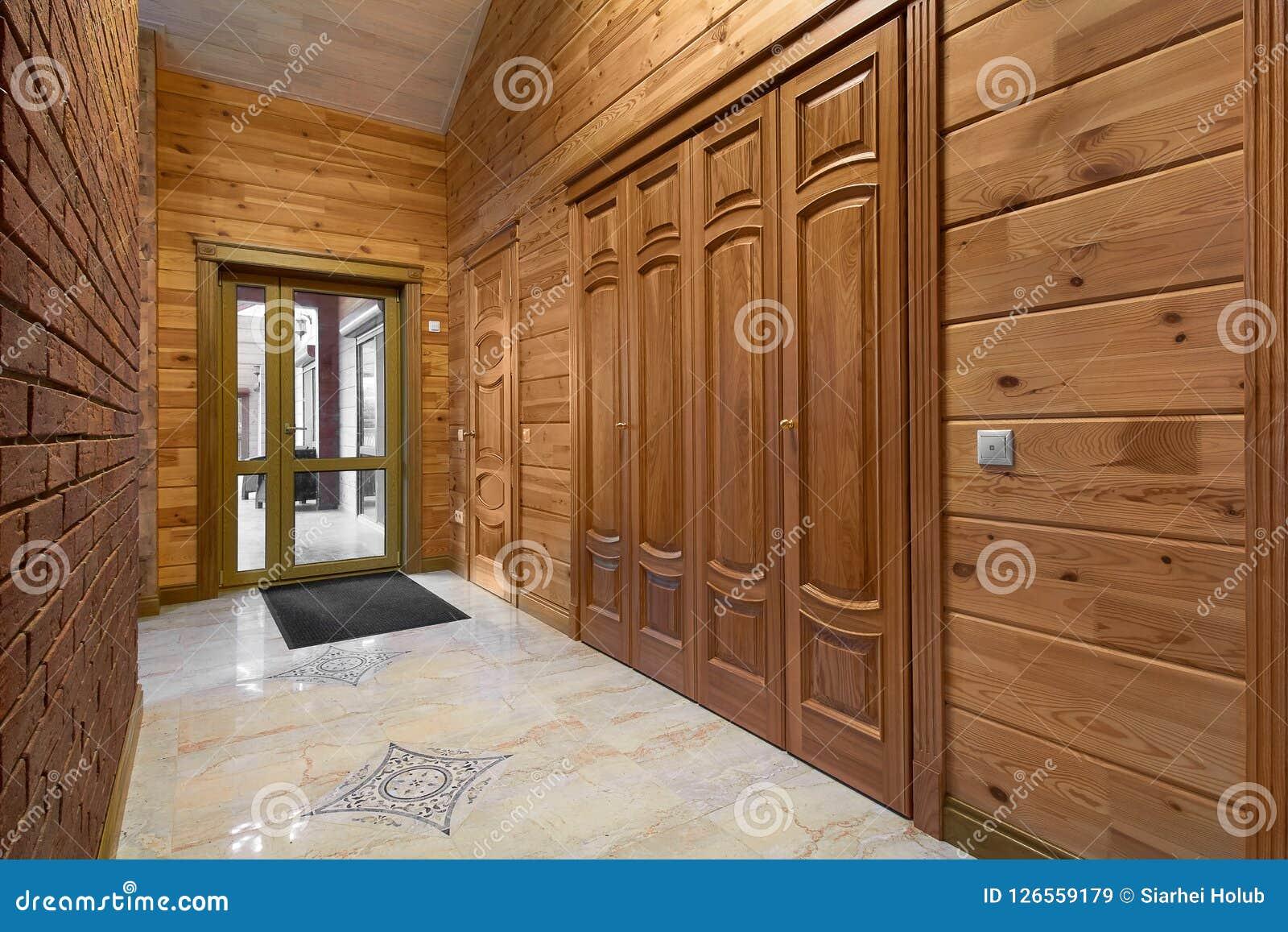 Puertas interiores de madera del diseño de alta calidad, interior