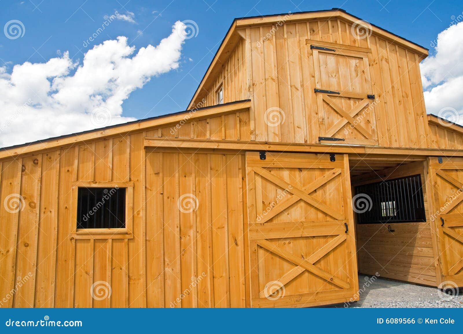 Puertas y ventanas de granero