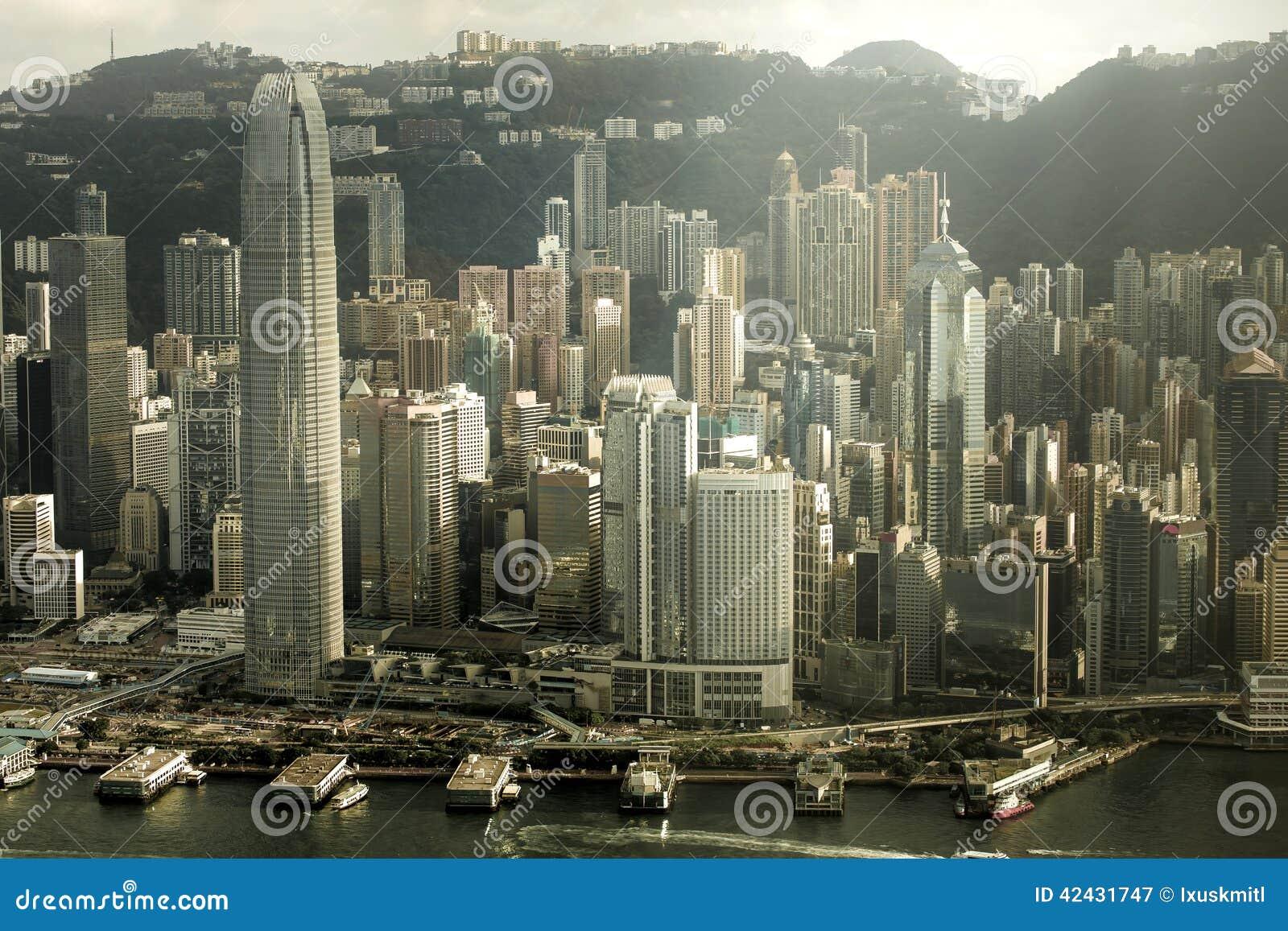 Puerto de Hong-Kong victoria