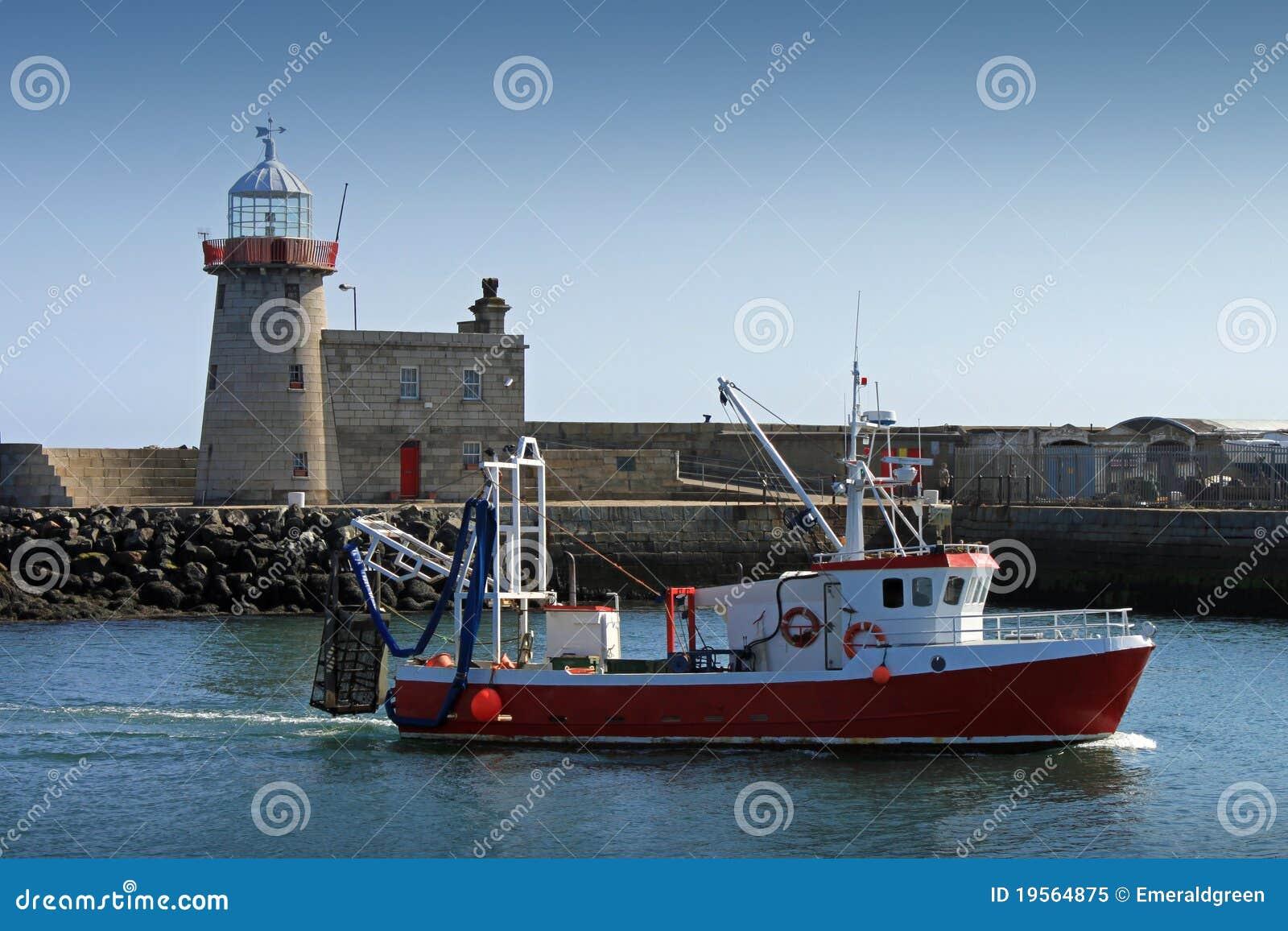 Puerto de Howth del retén de la mañana