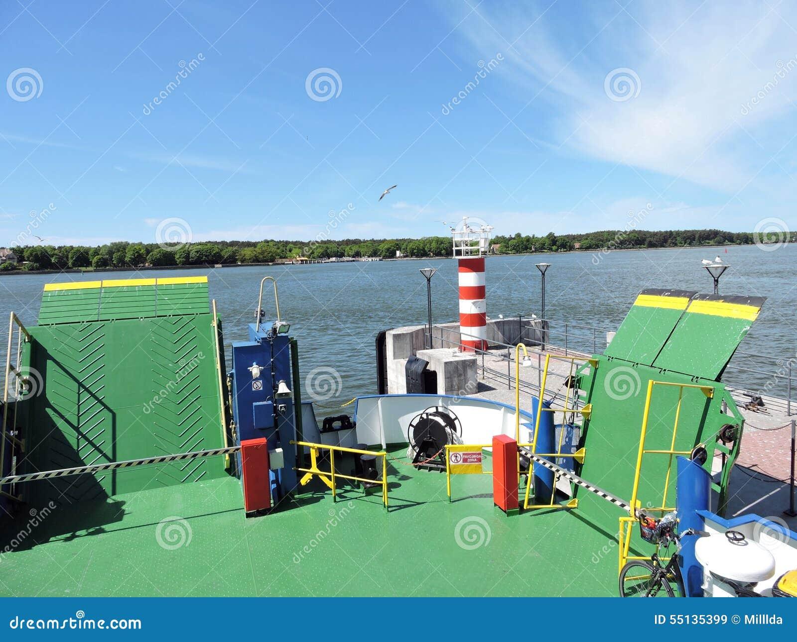 Puerto de la ciudad de Klaipeda, Lituania