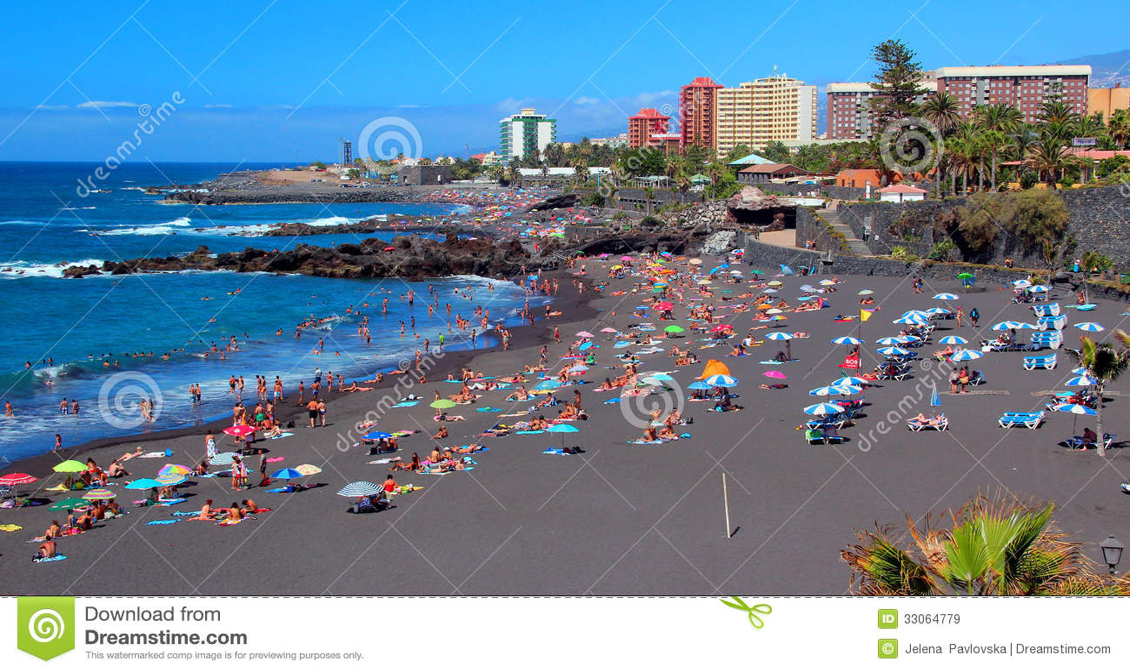Hotel Puerto De La Cruz Strand