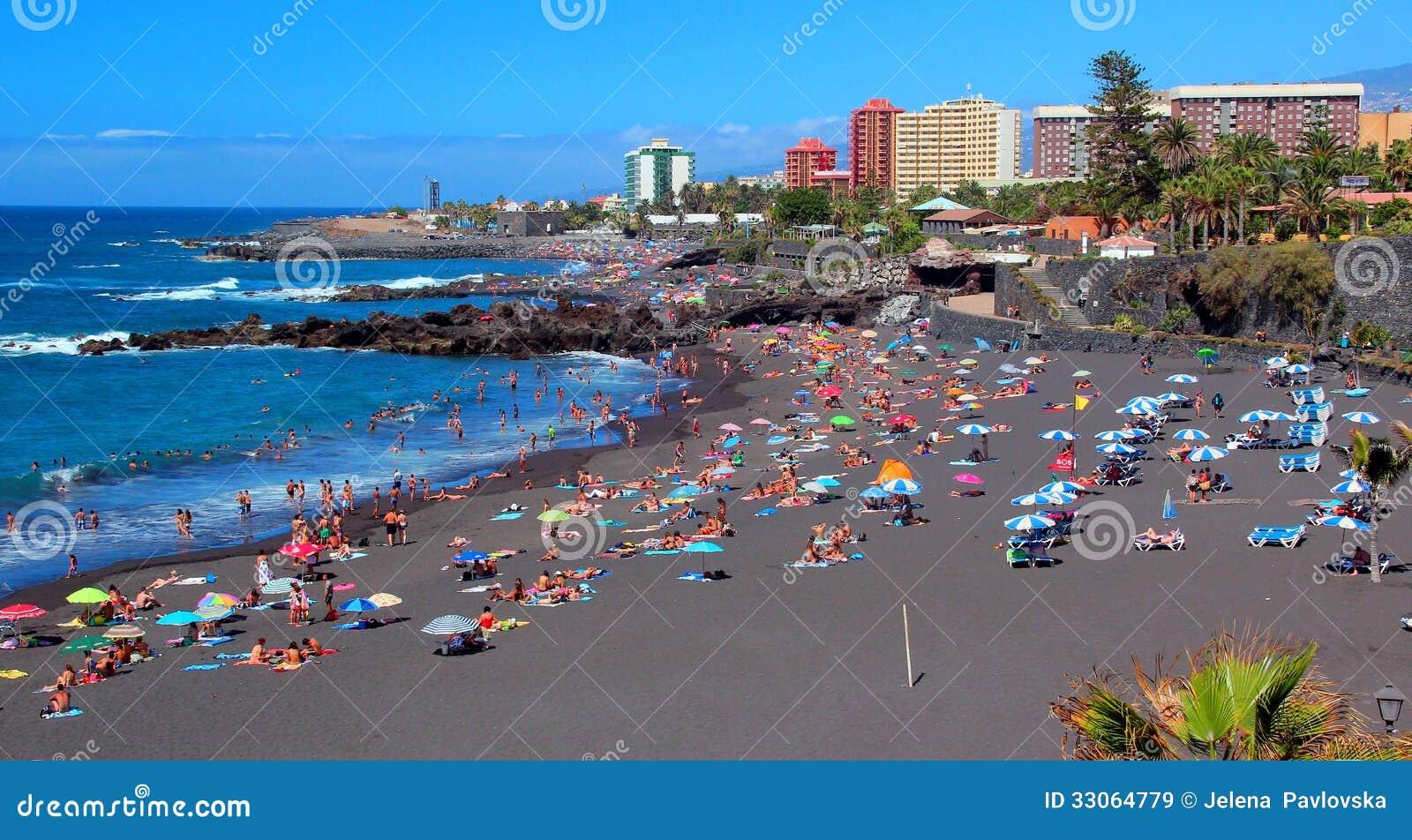 Puerto de la cruz playa jardin tenerife isole delle - Playa jardin puerto de la cruz tenerife ...
