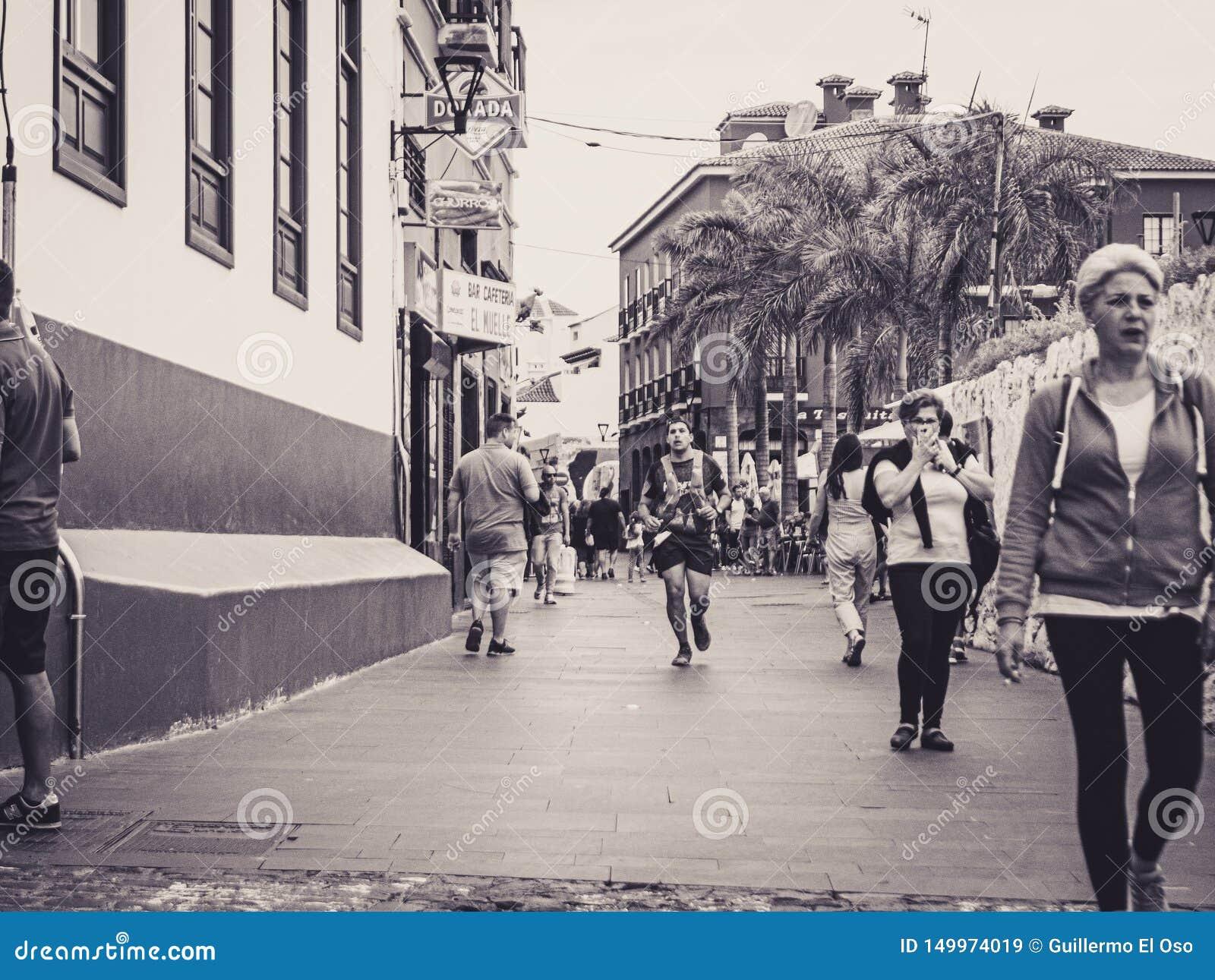 Puerto de la Cruz, Teneriffa 08 06 Teneriffa 2019 Bluetrail