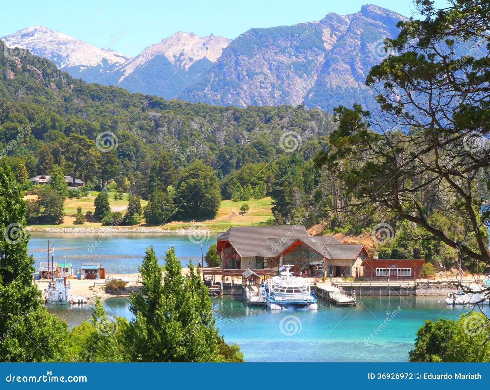 Puerto de Panuelo - Bariloche - la Argentina