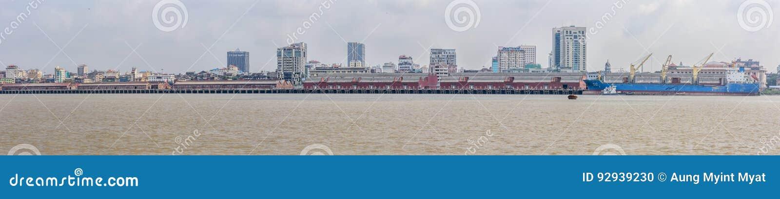 Puerto de Rangún