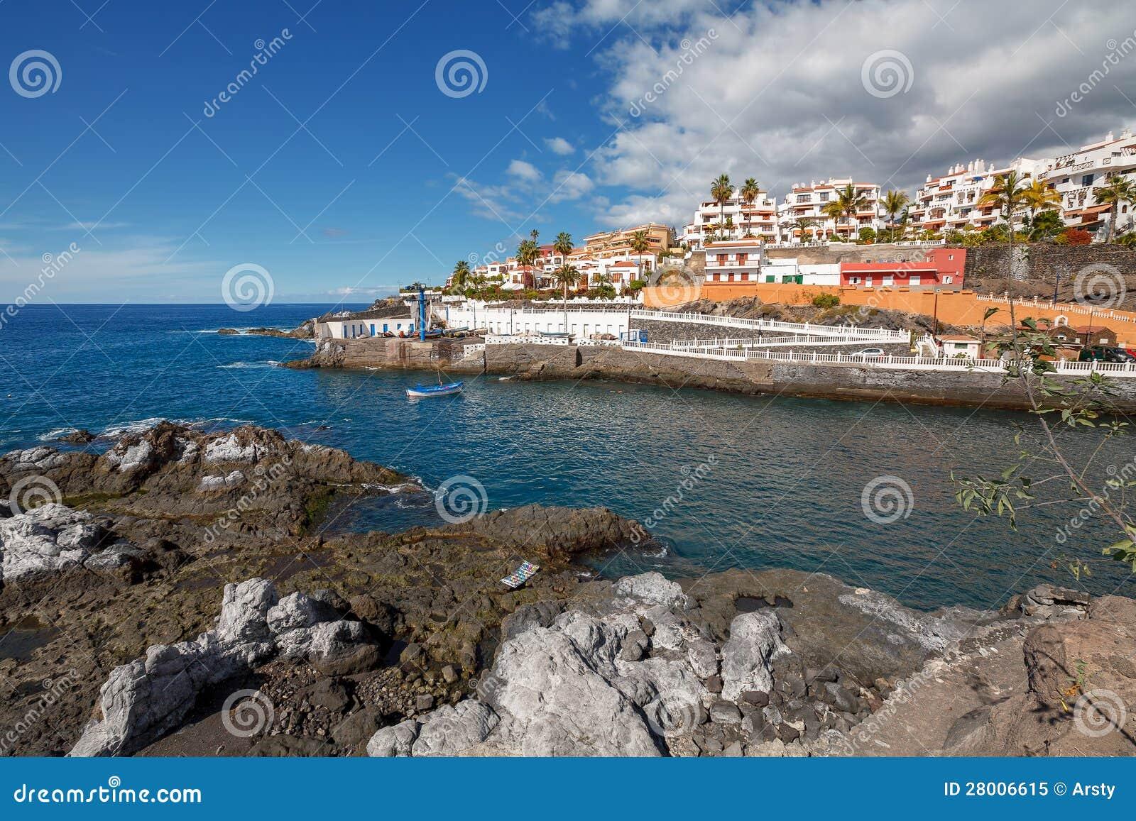 Puerto de santiago tenerife royalty free stock photo image 28006615 - Puerto santiago tenerife mapa ...