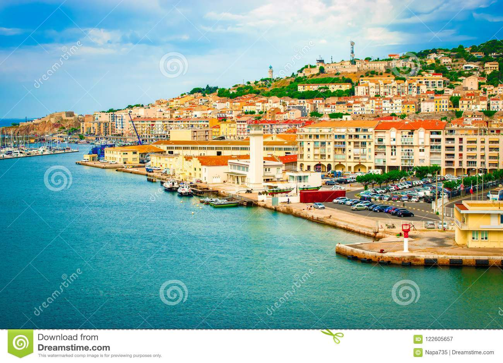 Puerto de Sete, Francia