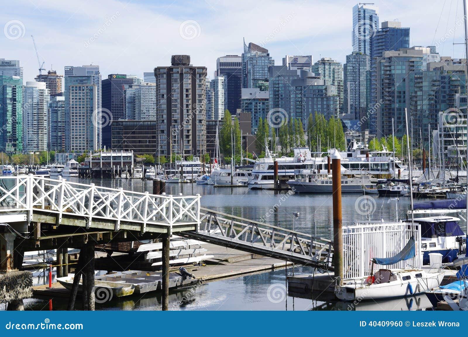 Puerto del carbón en Vancouver
