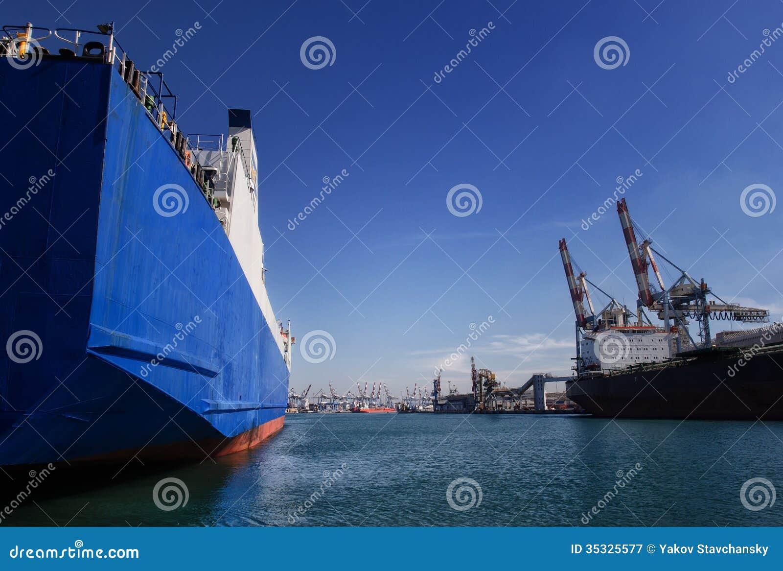 Puerto del cargo