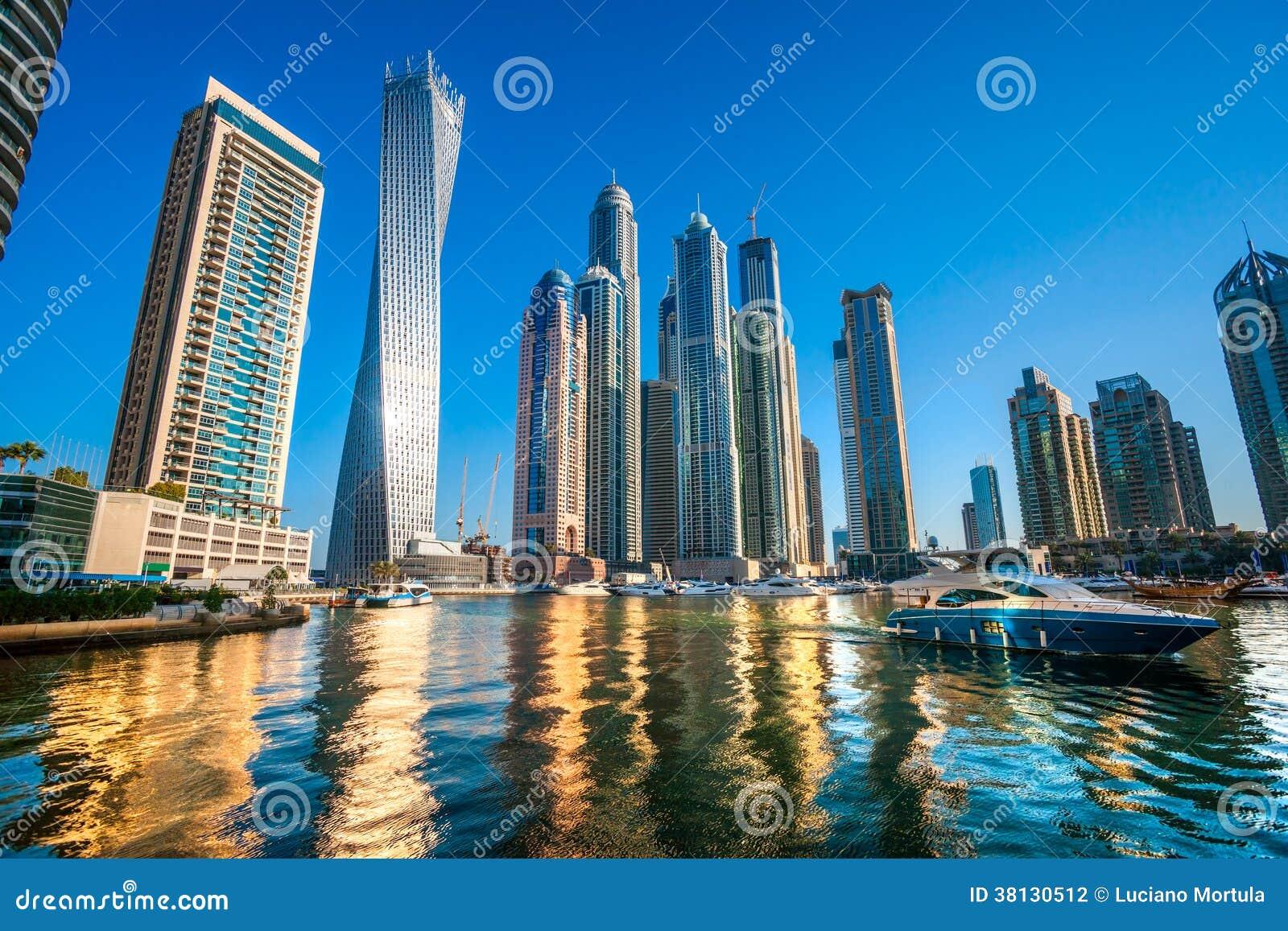 Puerto deportivo de Dubai.