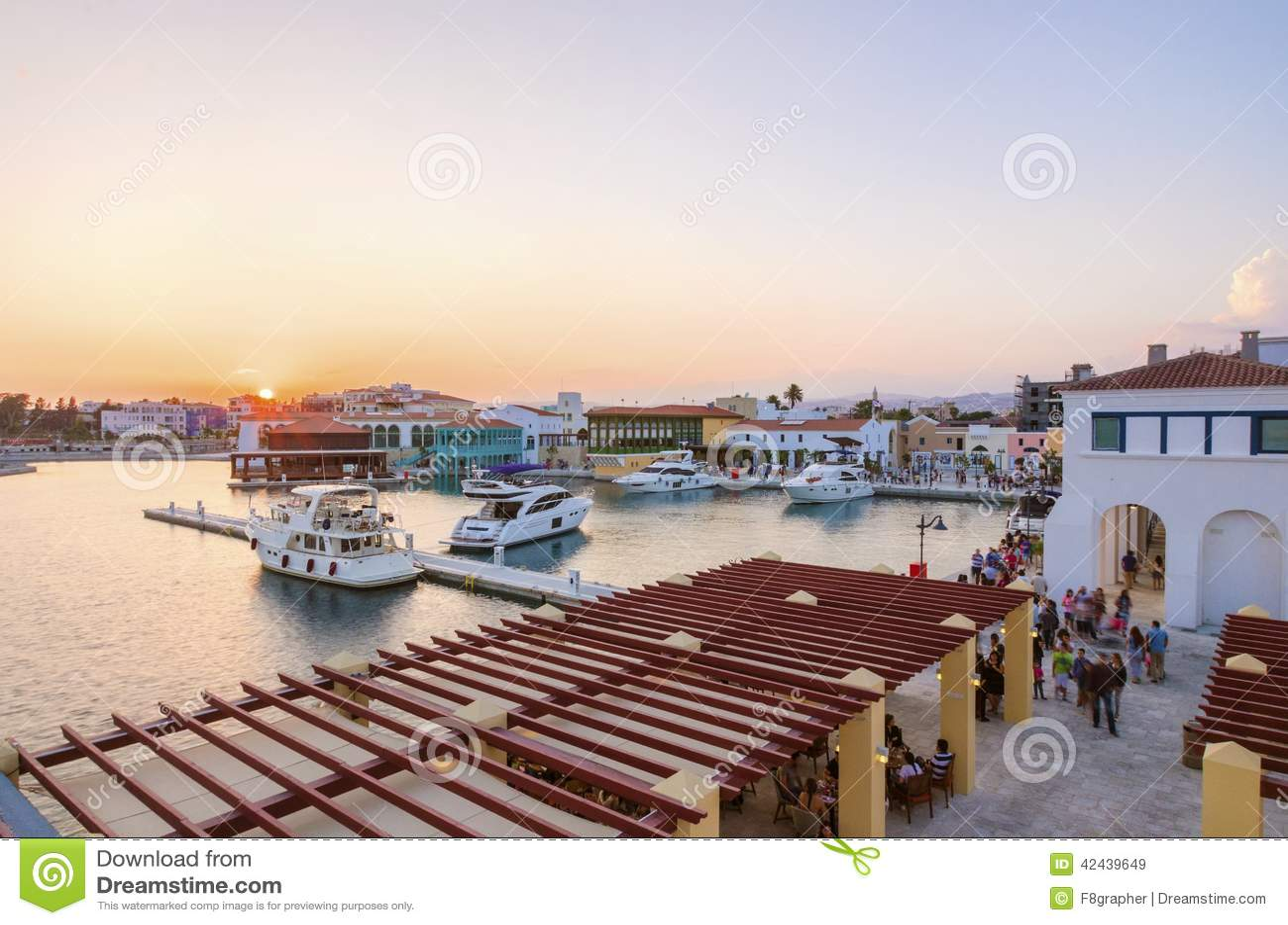 Puerto deportivo de Limassol, Chipre