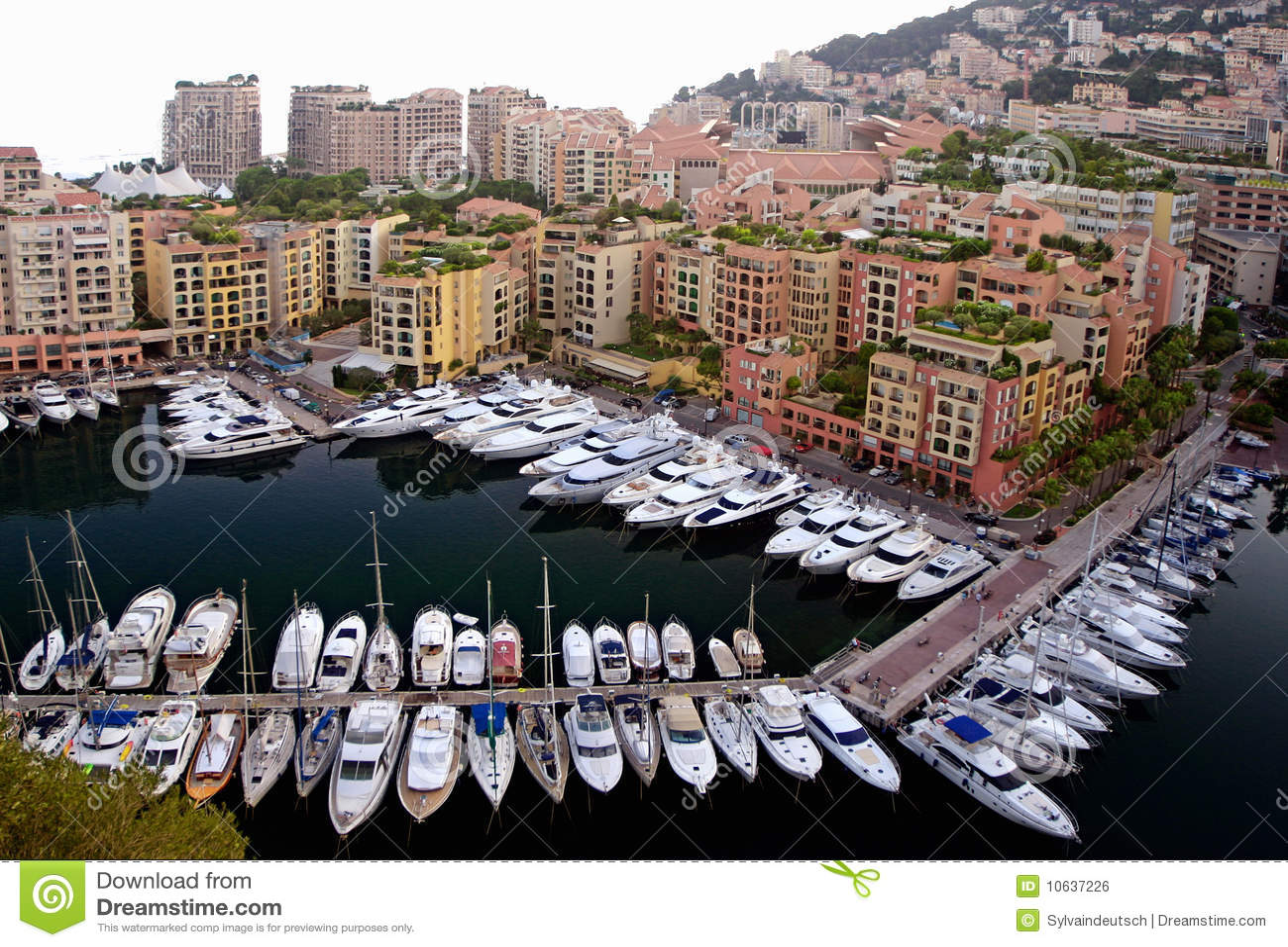 Puerto deportivo de Mónaco