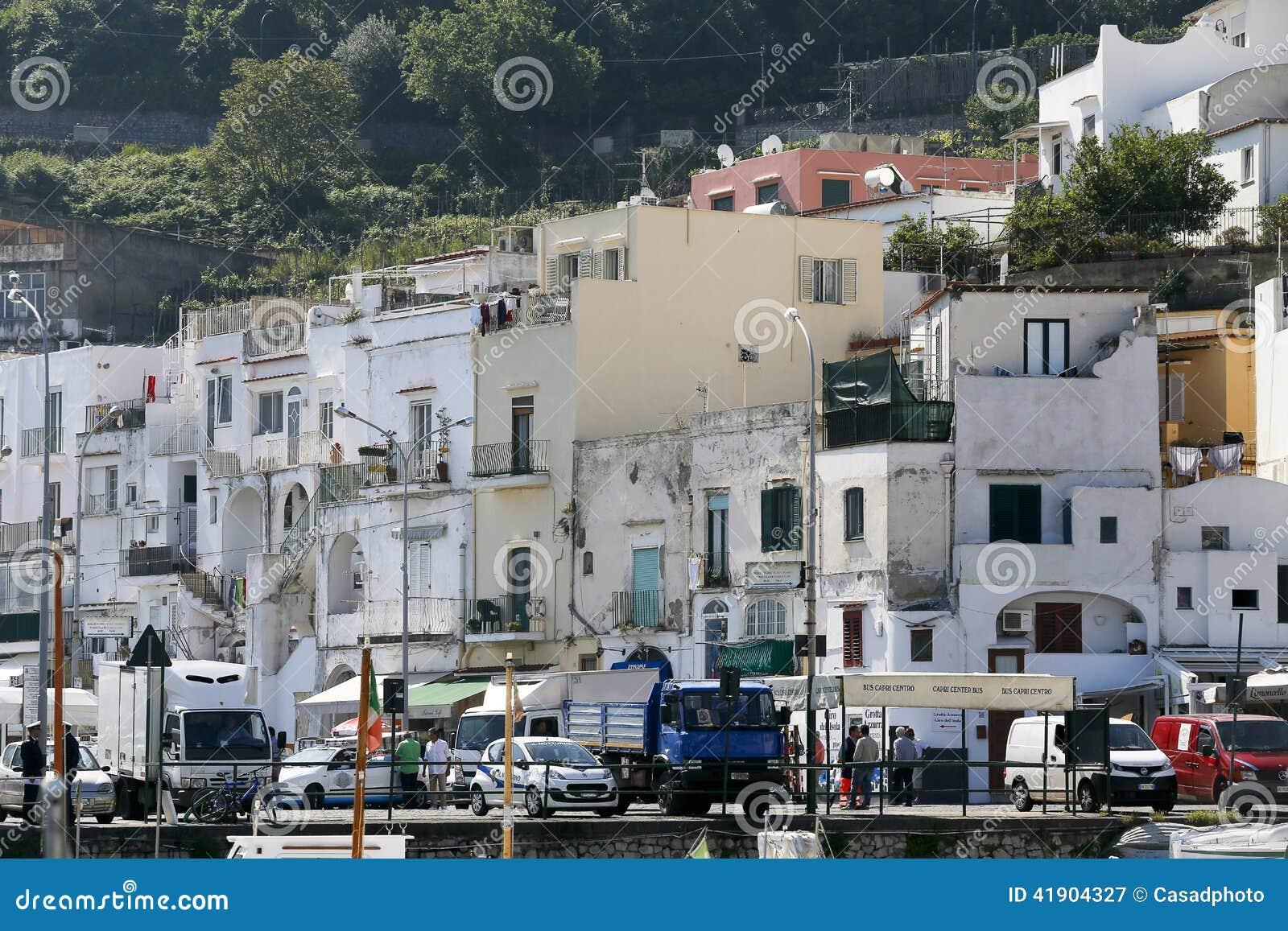 Puerto deportivo Italia de Capri
