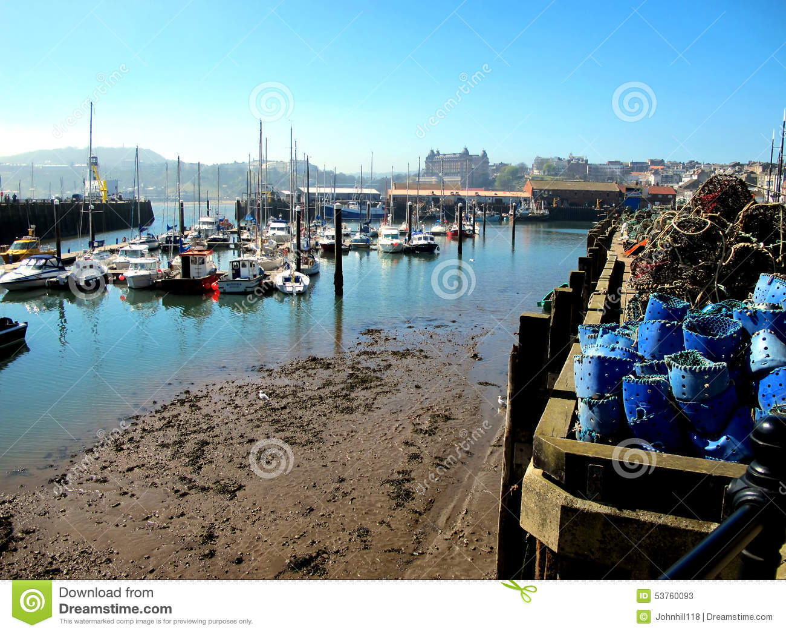 Puerto deportivo y puerto, Scarborough