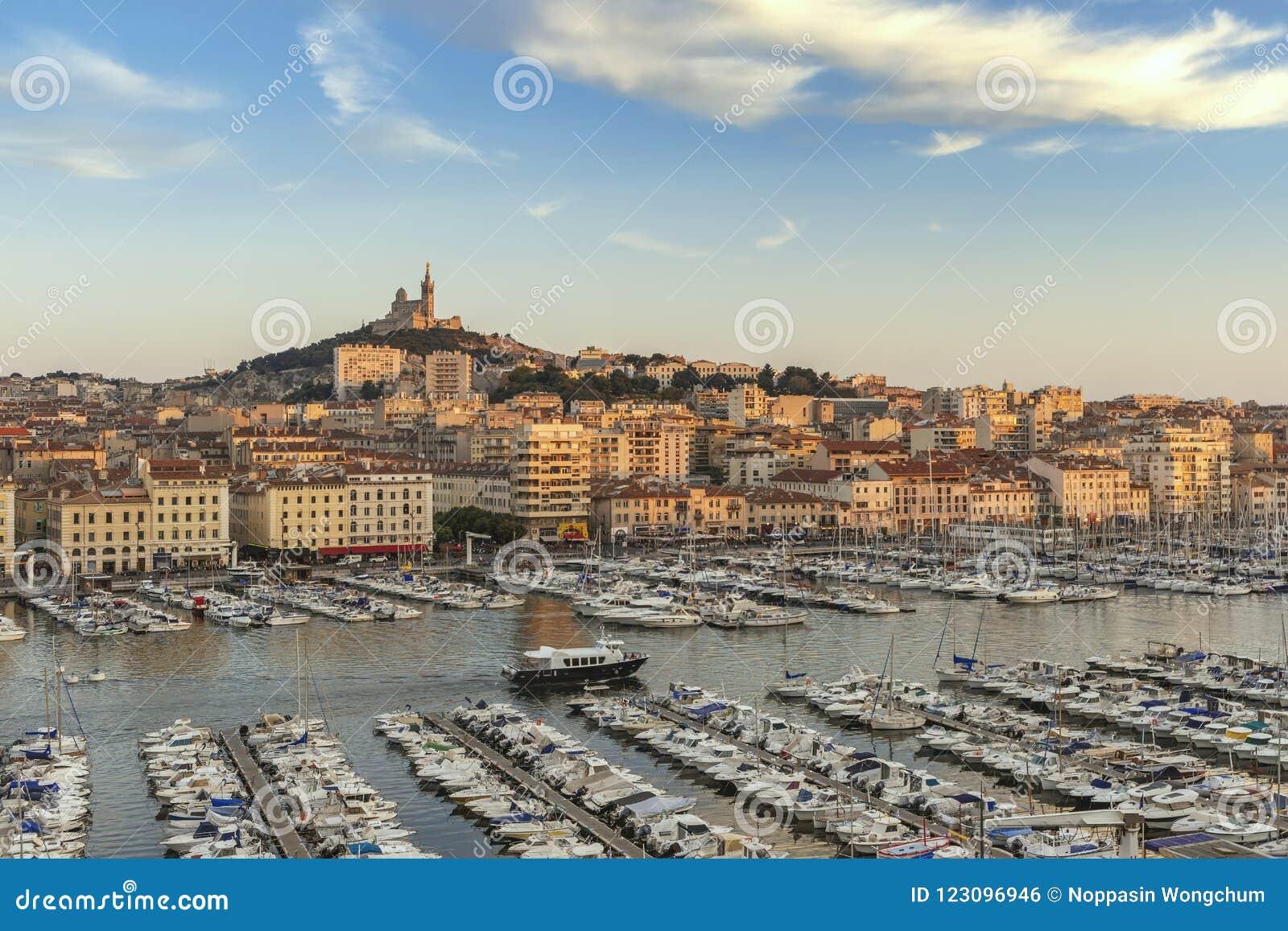 Puerto Francia de Marsella Vieux