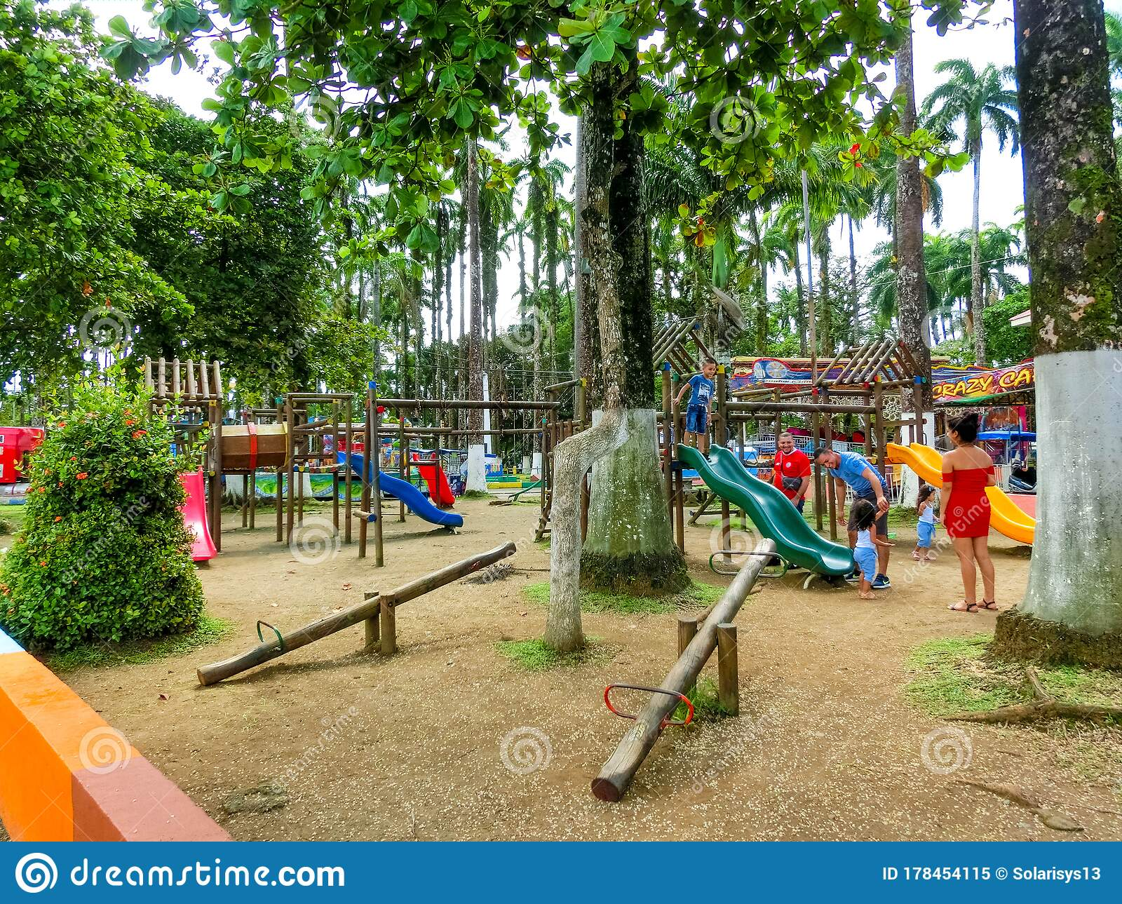 Puerto Limon Costa Rica December 8 2019 The People At Parque Vargas City Park In Puerto Limon Costa Rica Editorial Image Image Of National Editorial 178454115