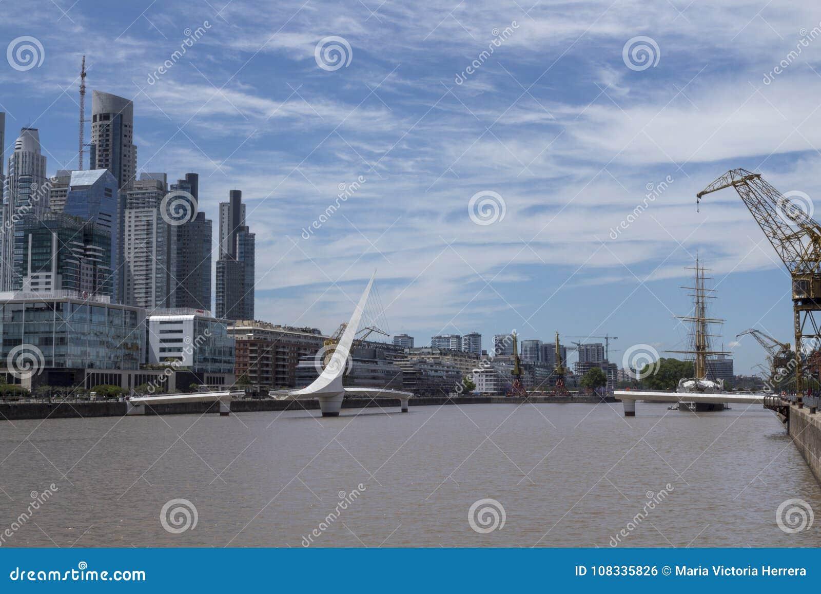 Puerto Madero Μπουένος Άιρες Puente de Λα mujer