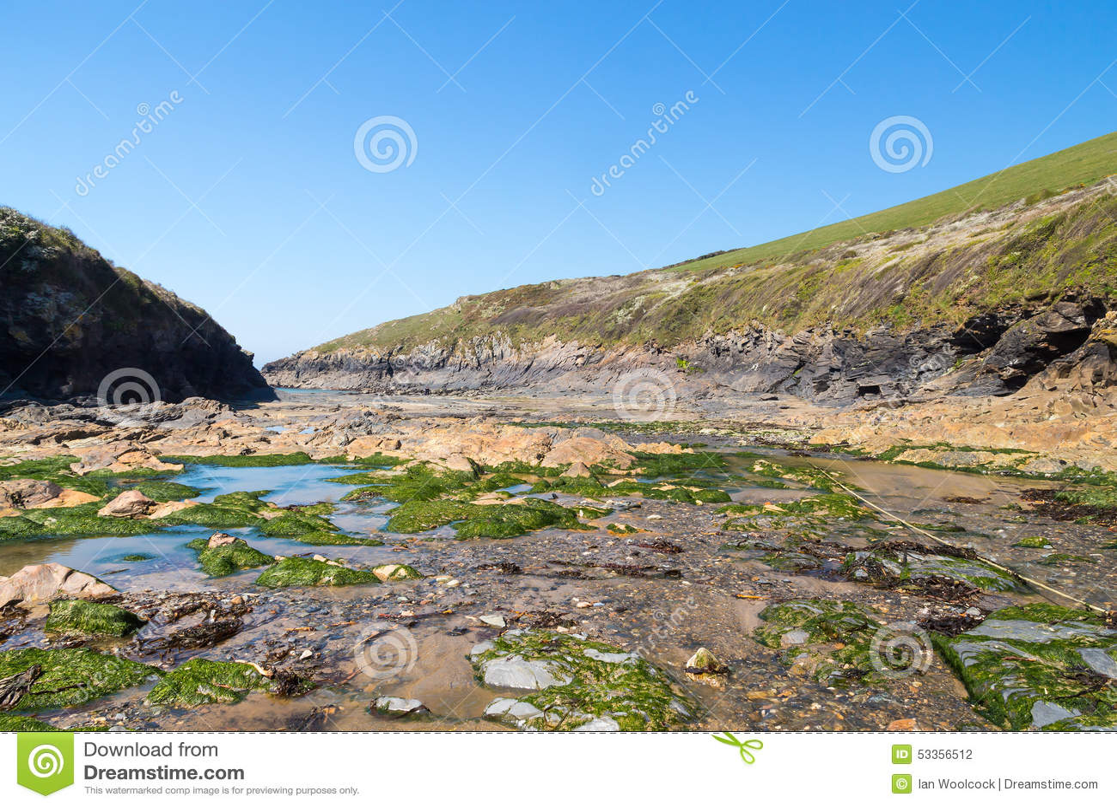 Puerto Quin Cornwall England