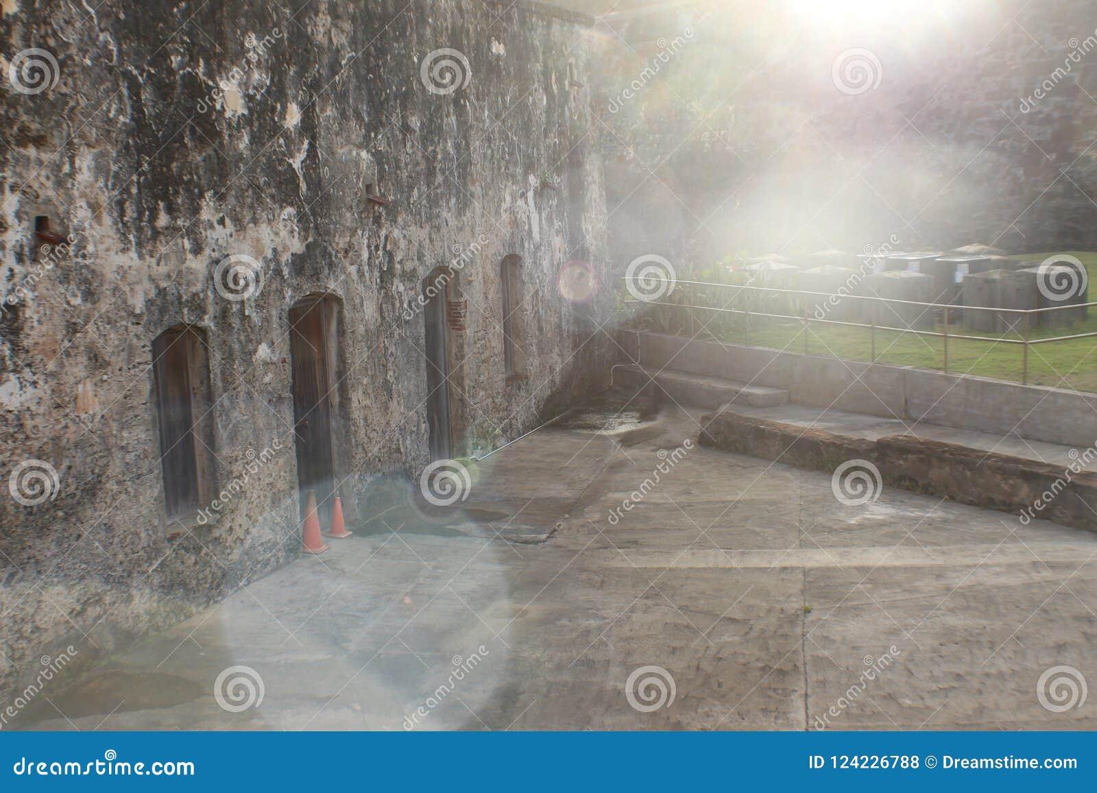 Puerto Rician bunker som kallar till dig