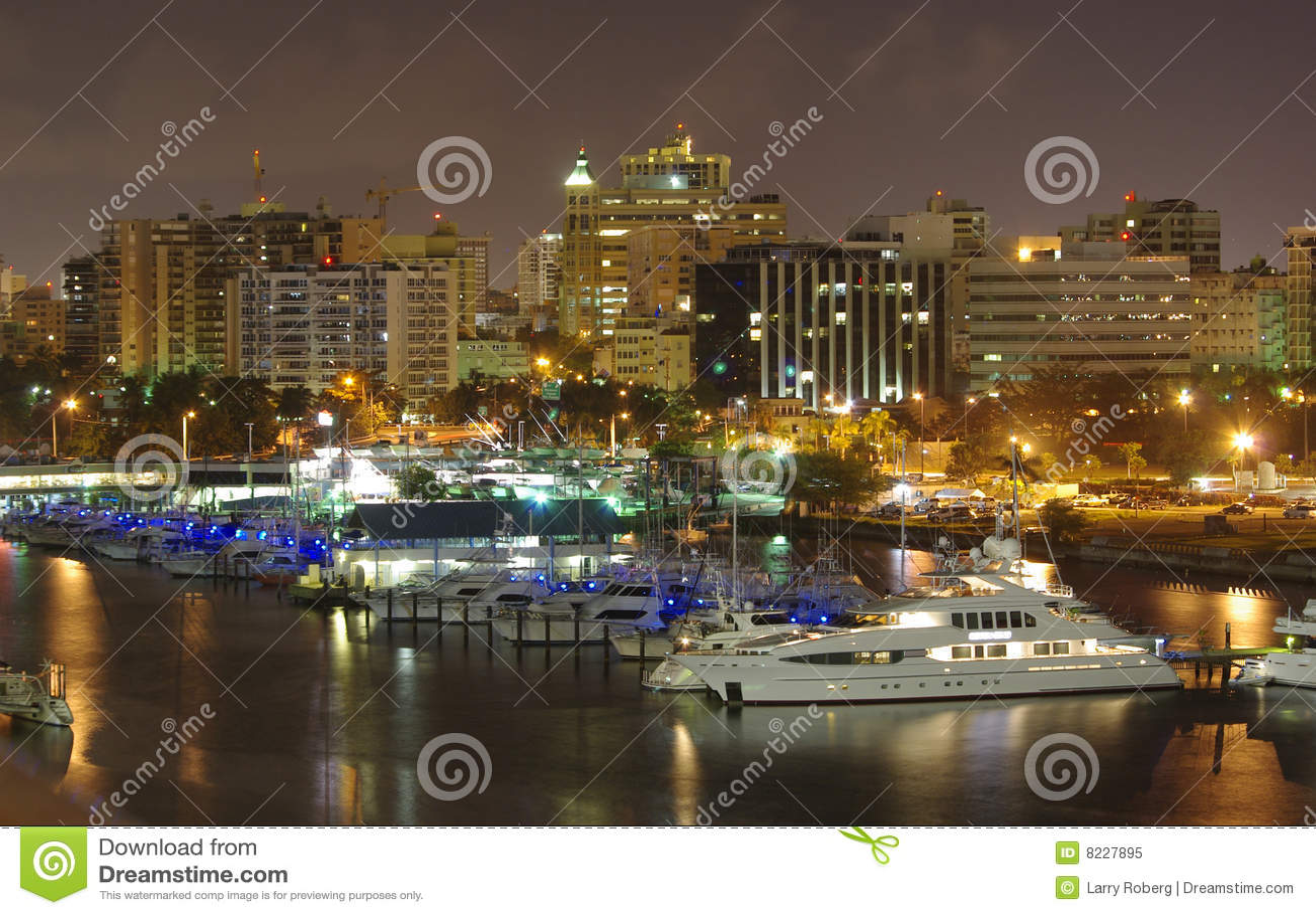 Puerto Rico bij nacht