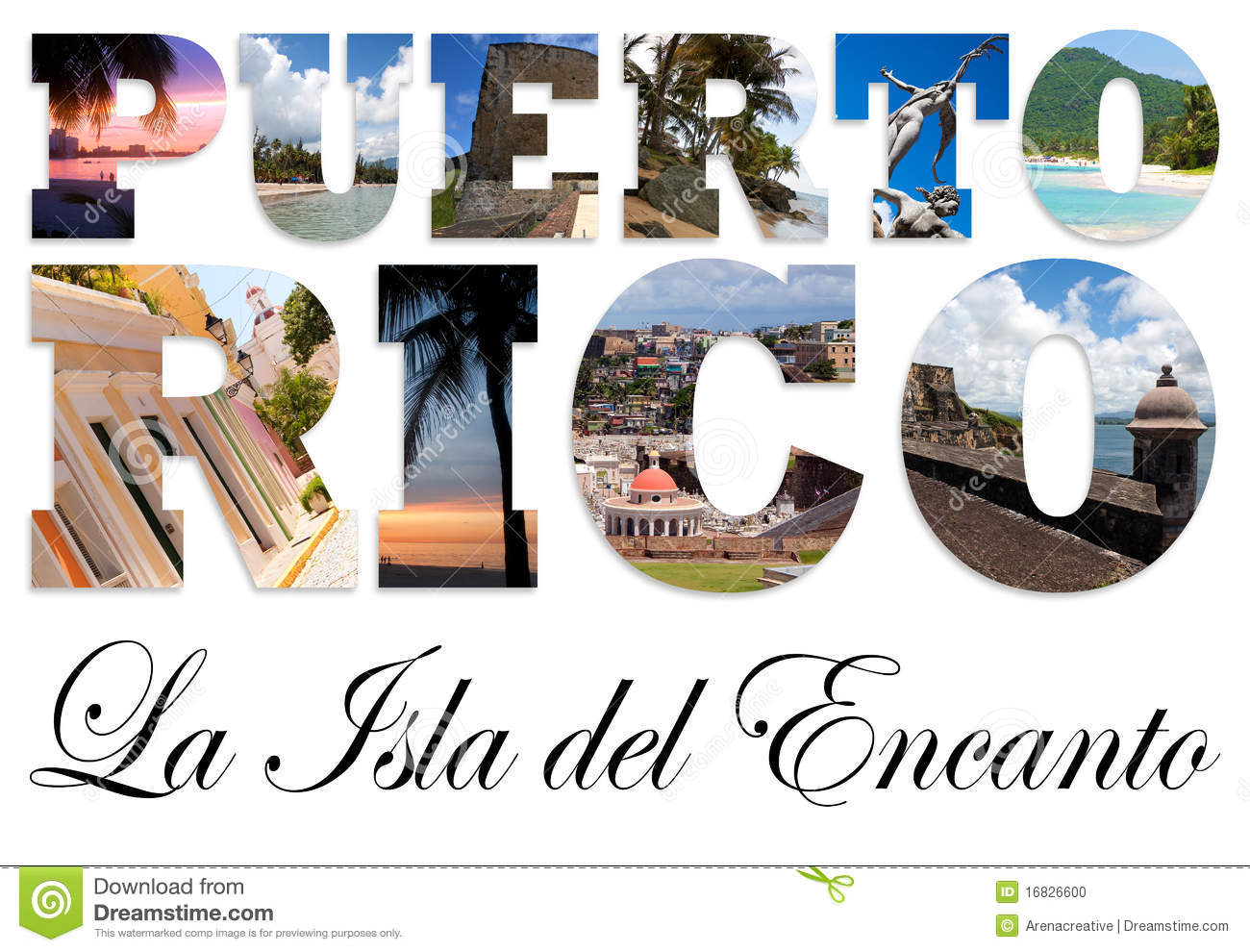 puerto rico collage stock illustration illustration of puerto rican clipart puerto rico clipart images