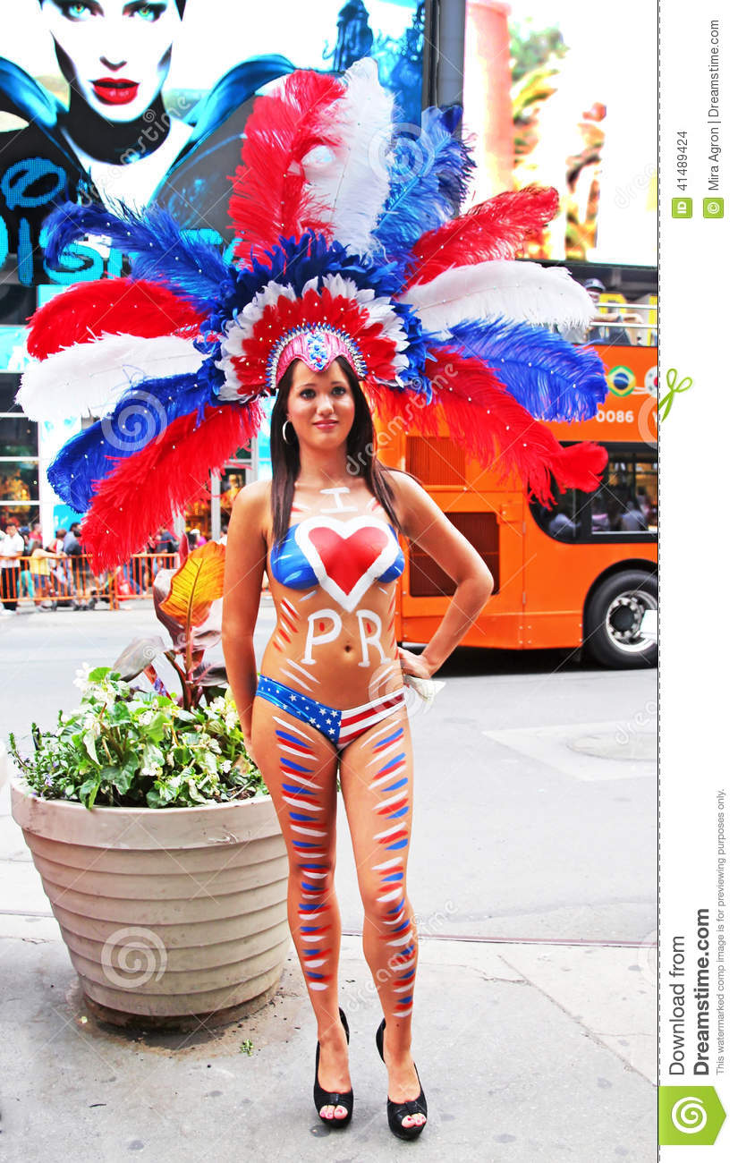 Opinion puerto rican flag bikini that