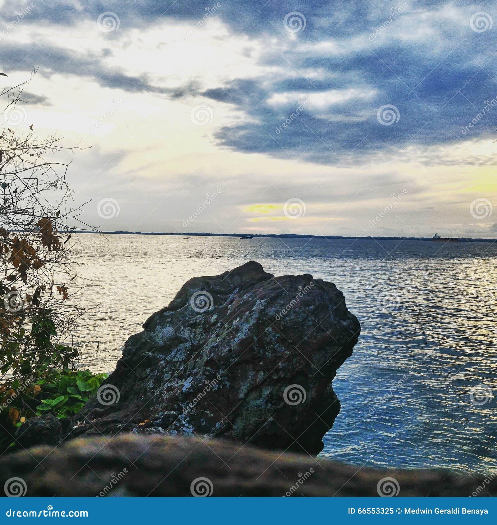 Puesta Del Sol Foto De Archivo Imagen 66553325