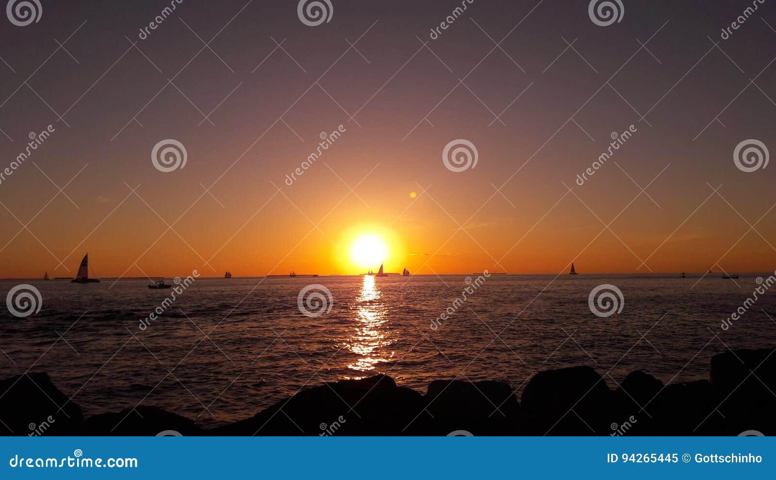 Puesta del sol americana