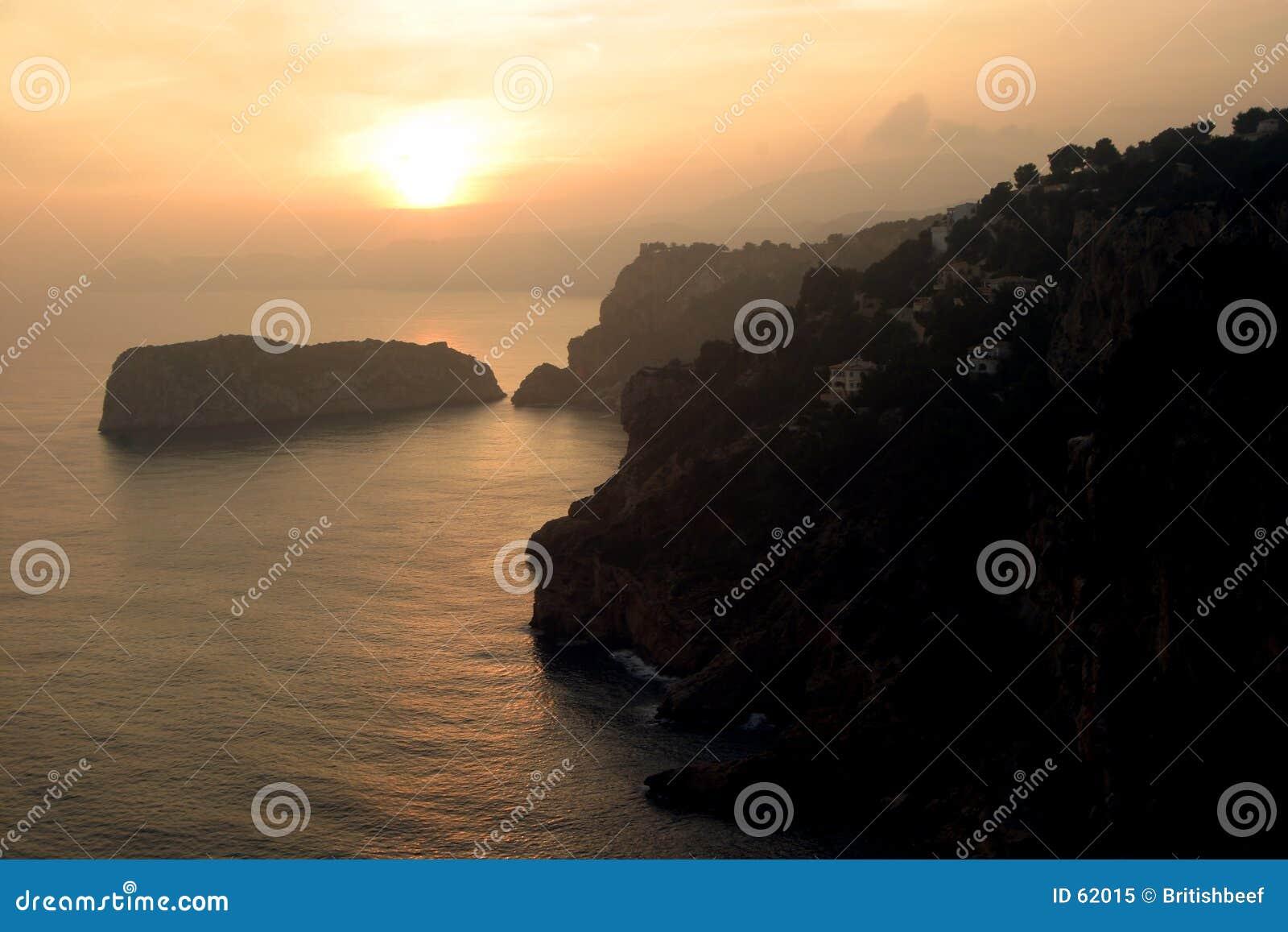 Puesta del sol de Javea