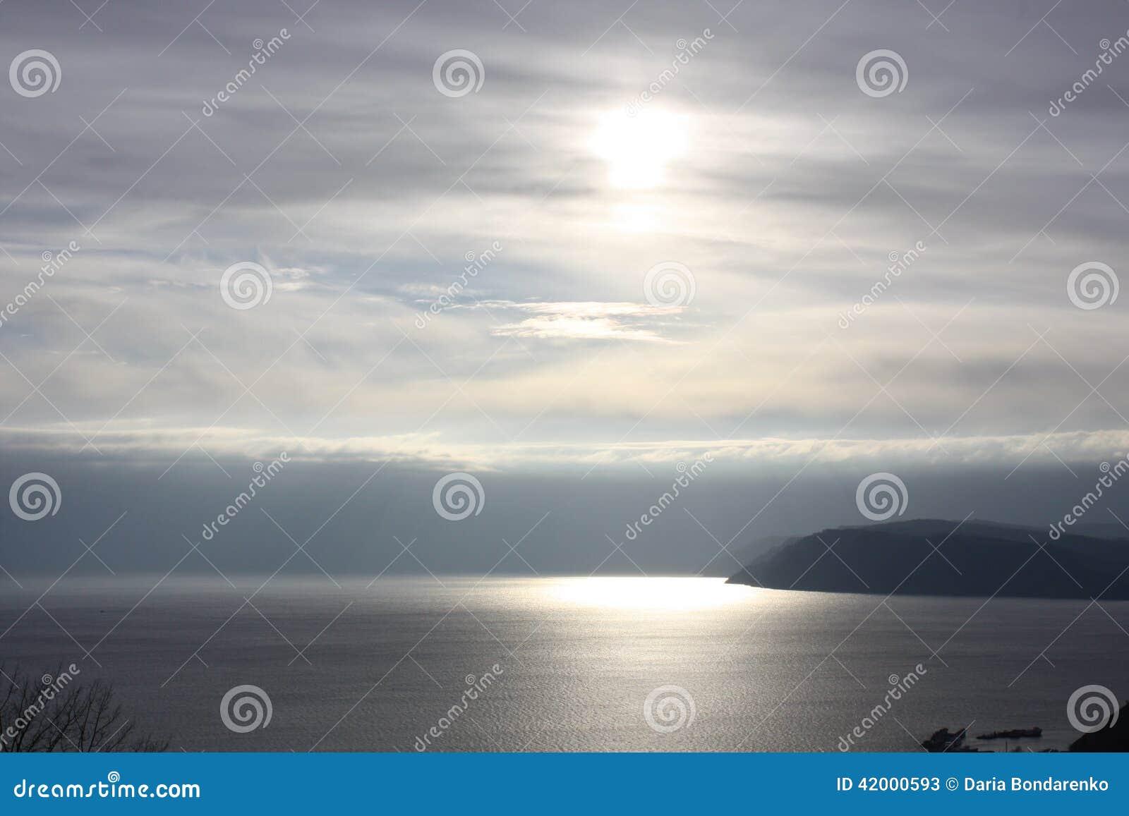 Puesta del sol en Baikal