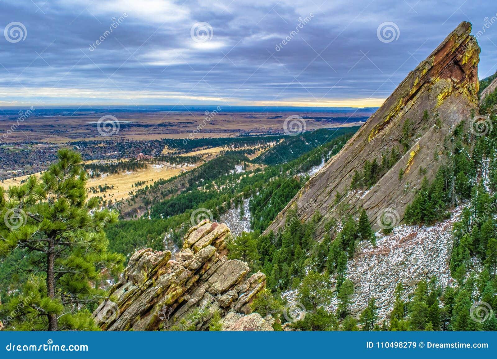 Puesta del sol en Boulder, Colorado