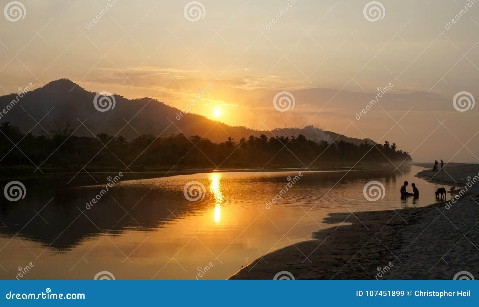 Puesta del sol en Palomino
