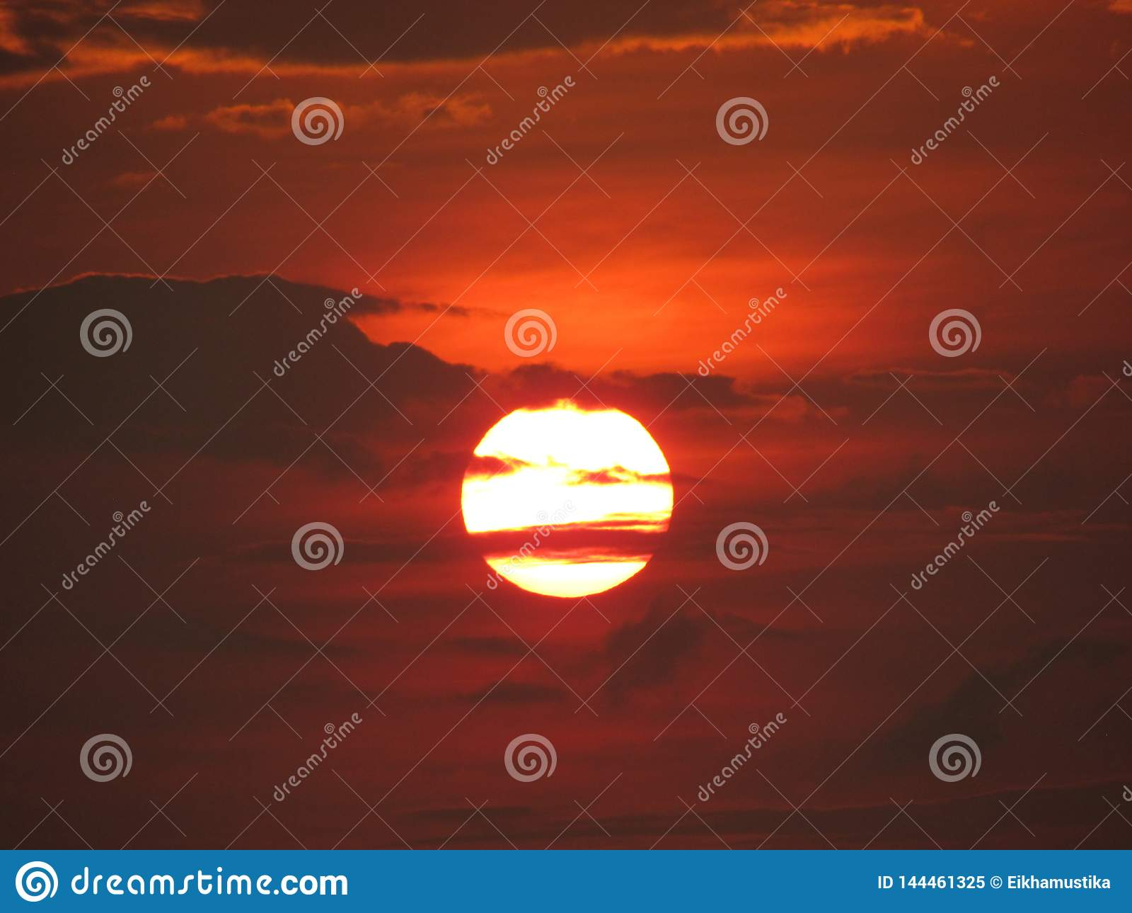 Puesta del sol mágica